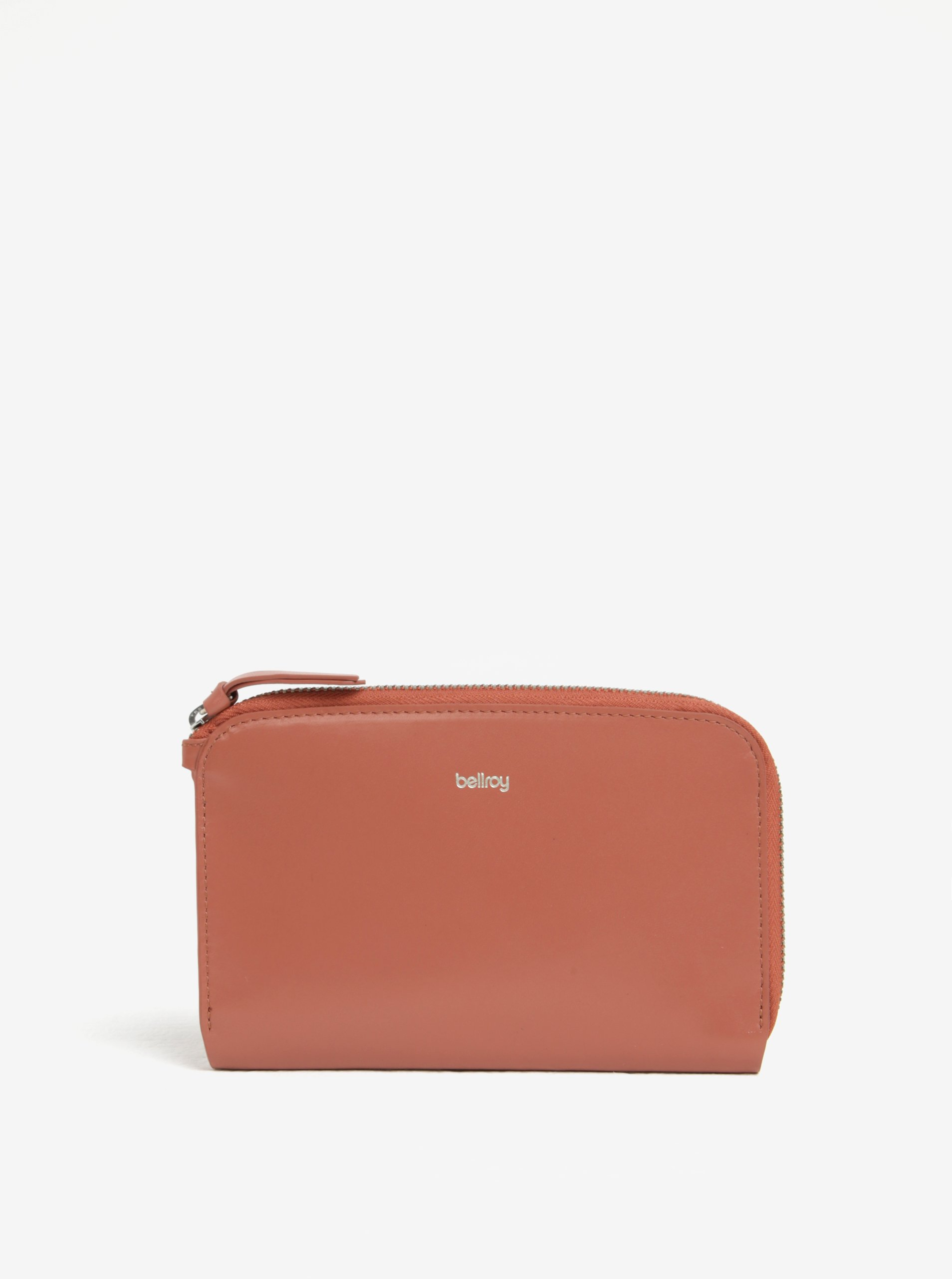 Růžová dámská kožená peněženka Bellroy Pocket