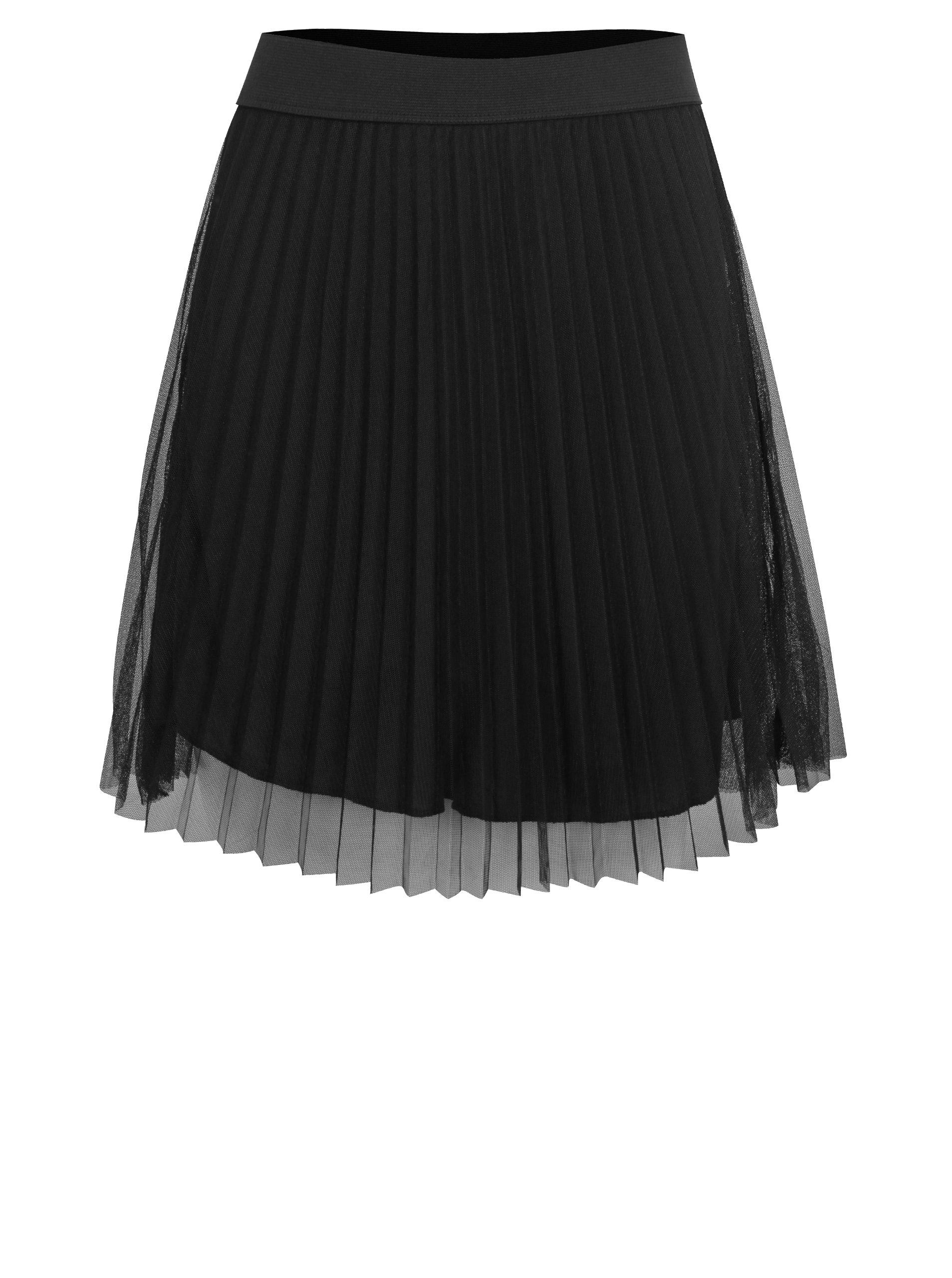 Čierna dievčenská tylová sukňa LIMITED by name it Onja