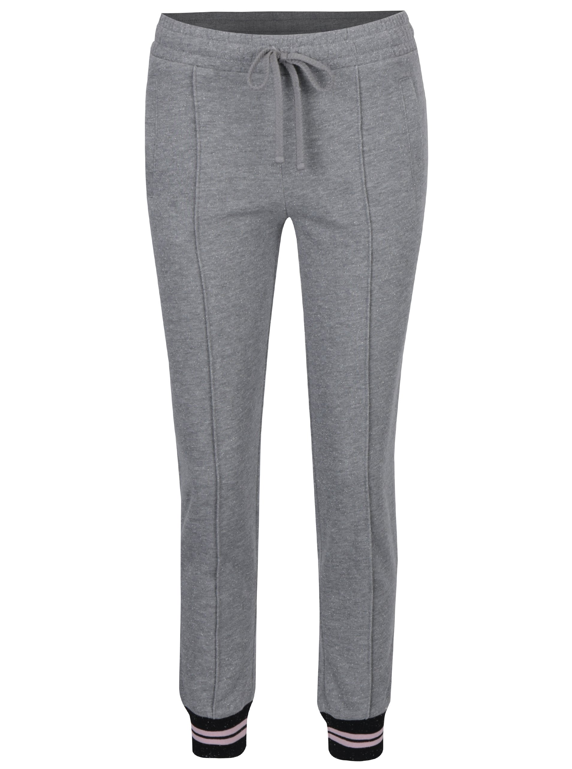 Sivé tepláky Juicy Couture