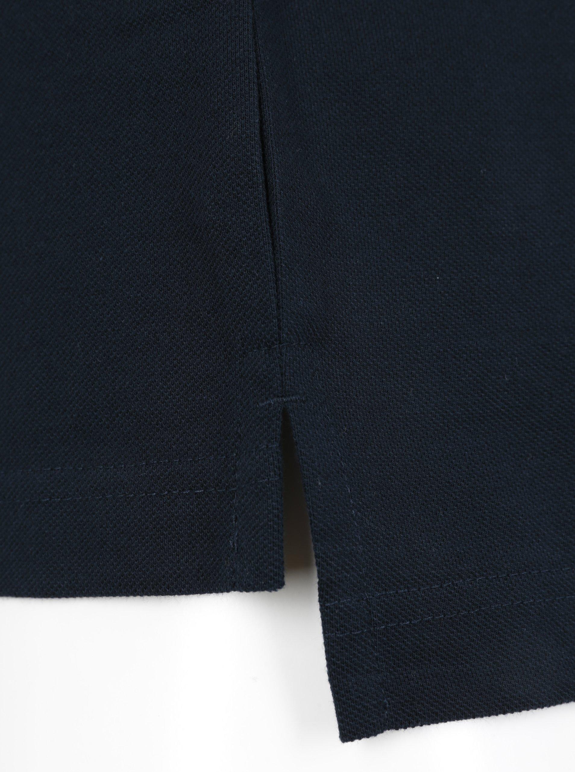 Tmavě modré pánské polo tričko Tommy Hilfiger Luxury - SLEVA ... 59227d4227d