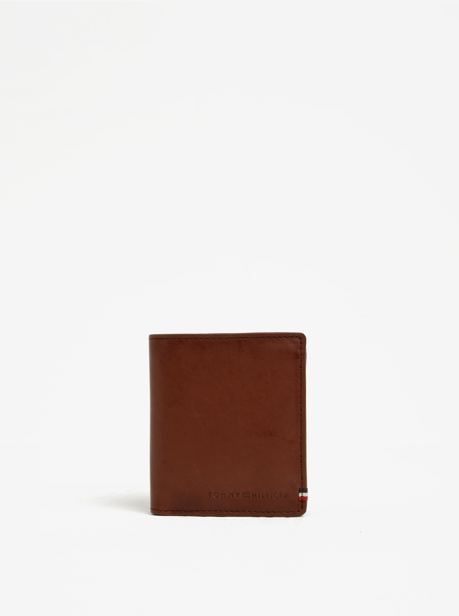 Hnědá pánská kožená peněženka Tommy Hilfiger II.
