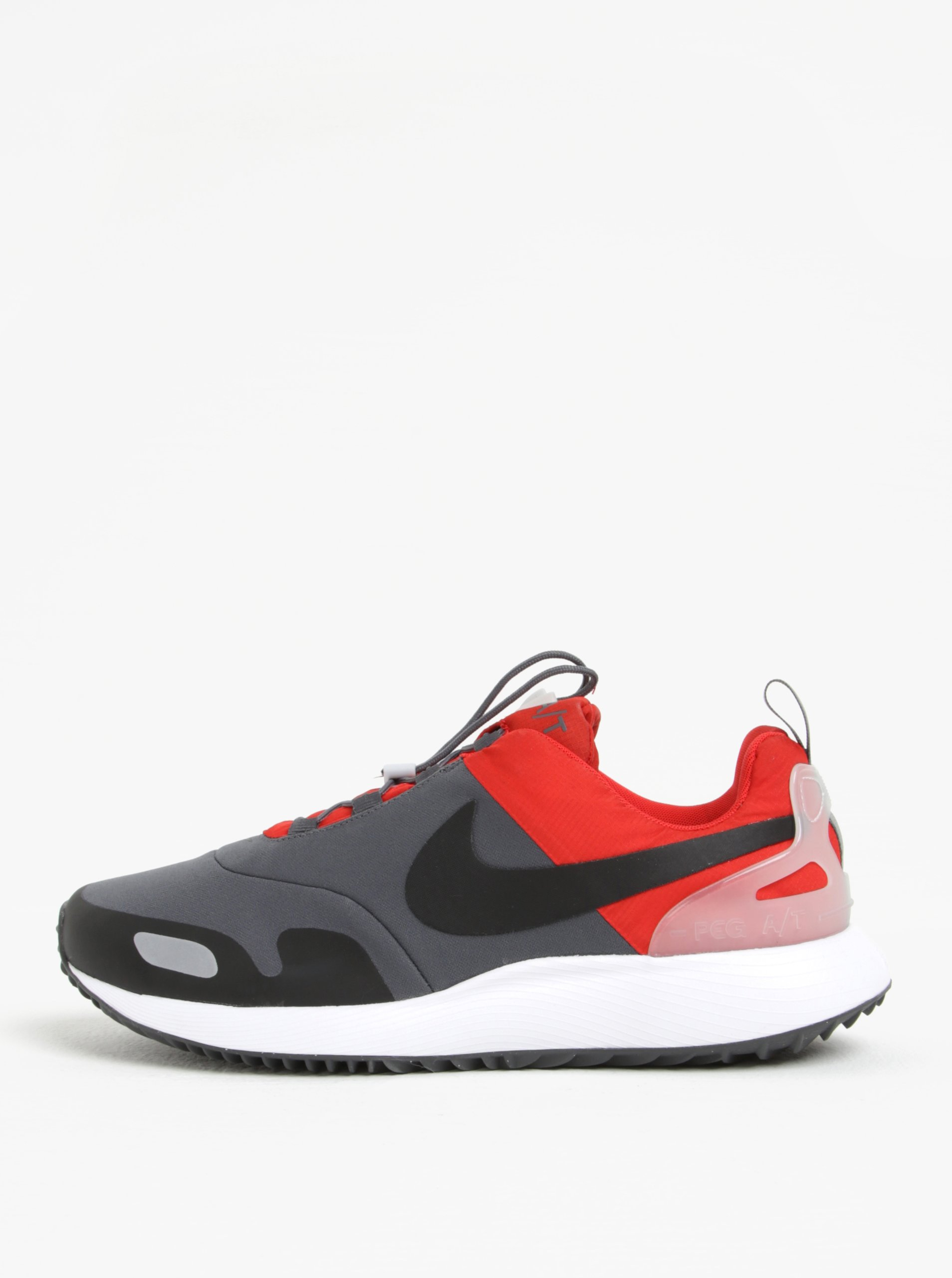 afeb96aa64 Sivo-červené pánske tenisky Nike Air Pegasus AT