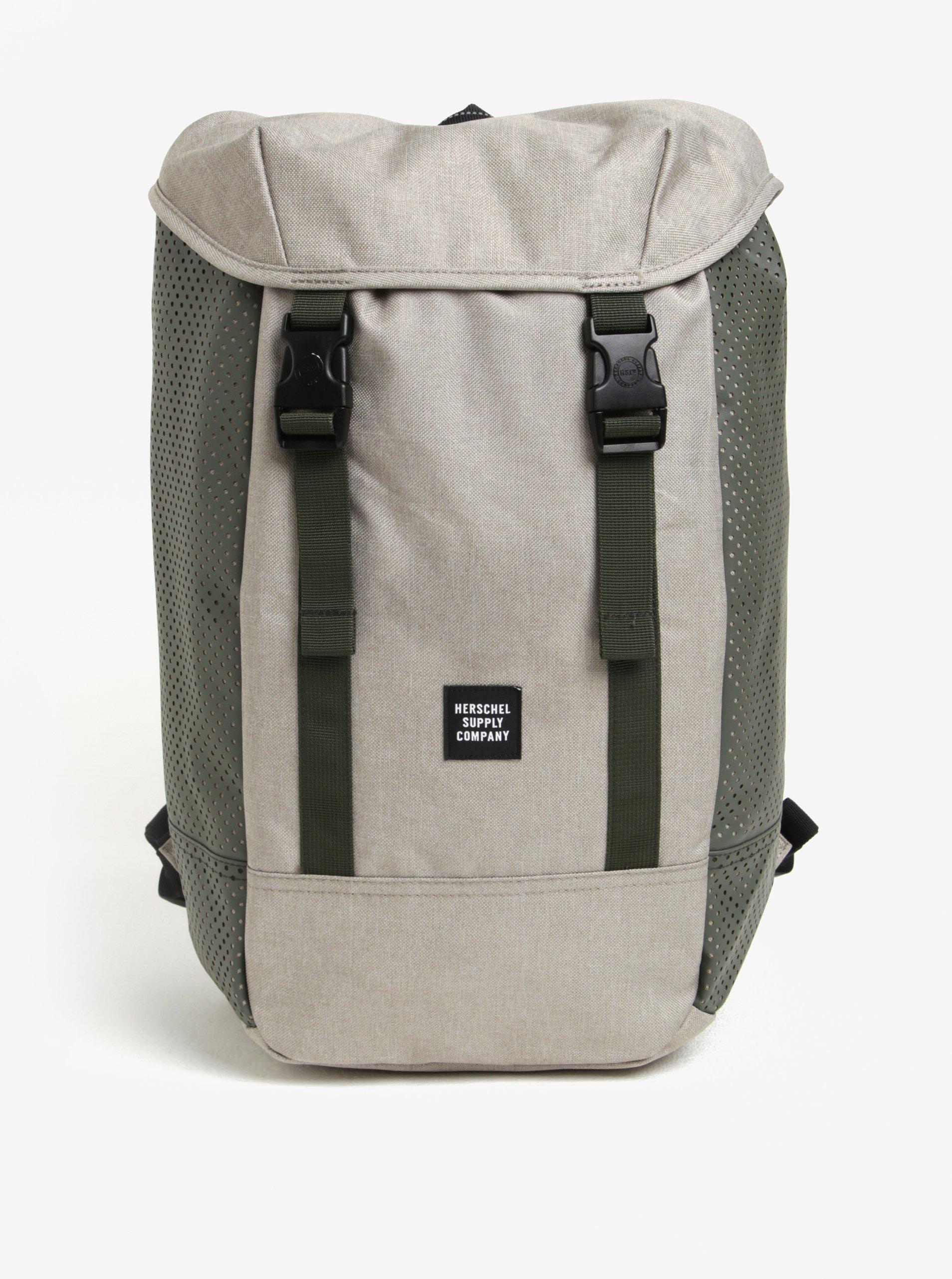 Zeleno-šedý batoh Herschel Iona 24 l