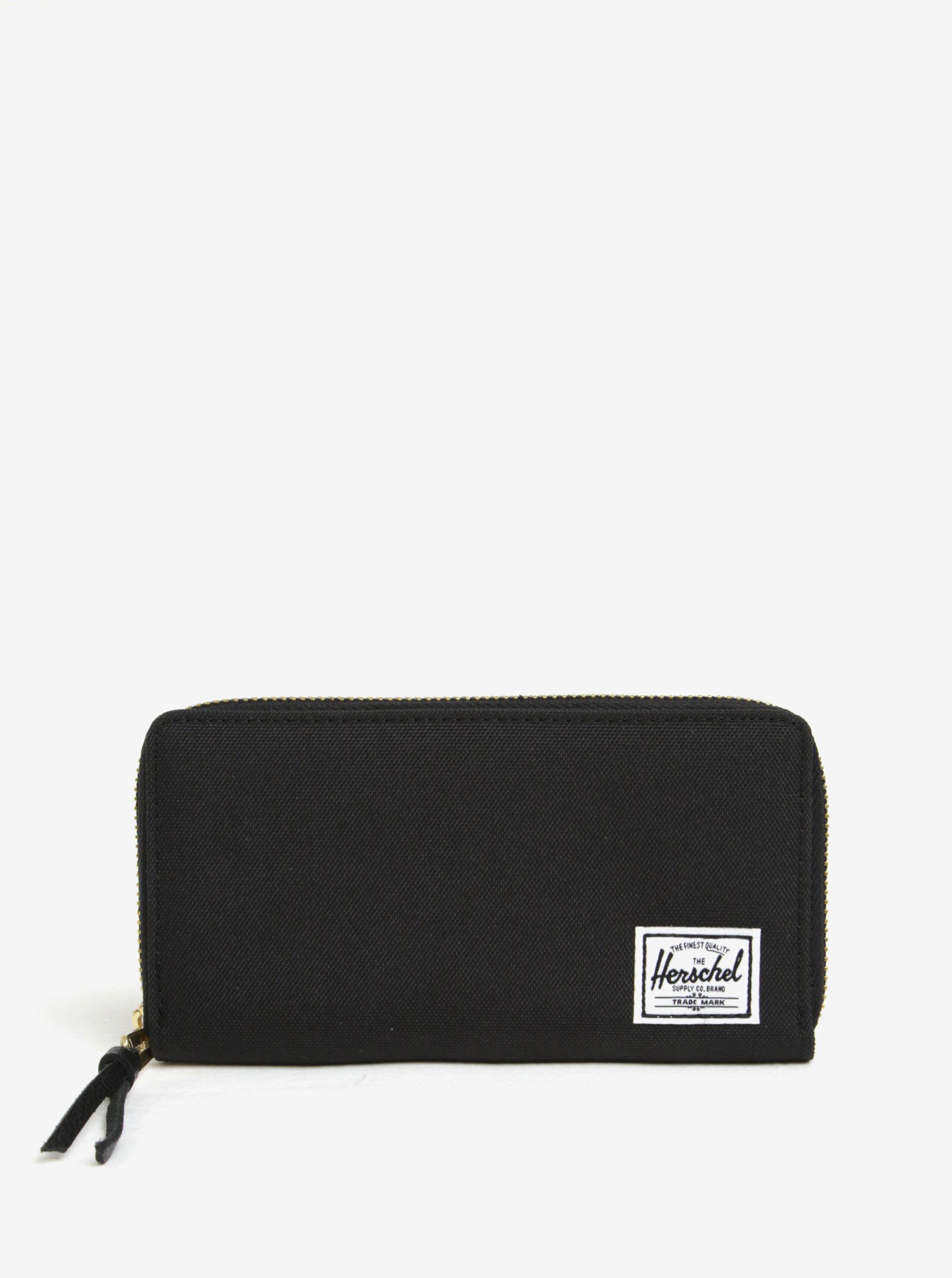 Černá pánská peněženka na zip Herschel Thomas