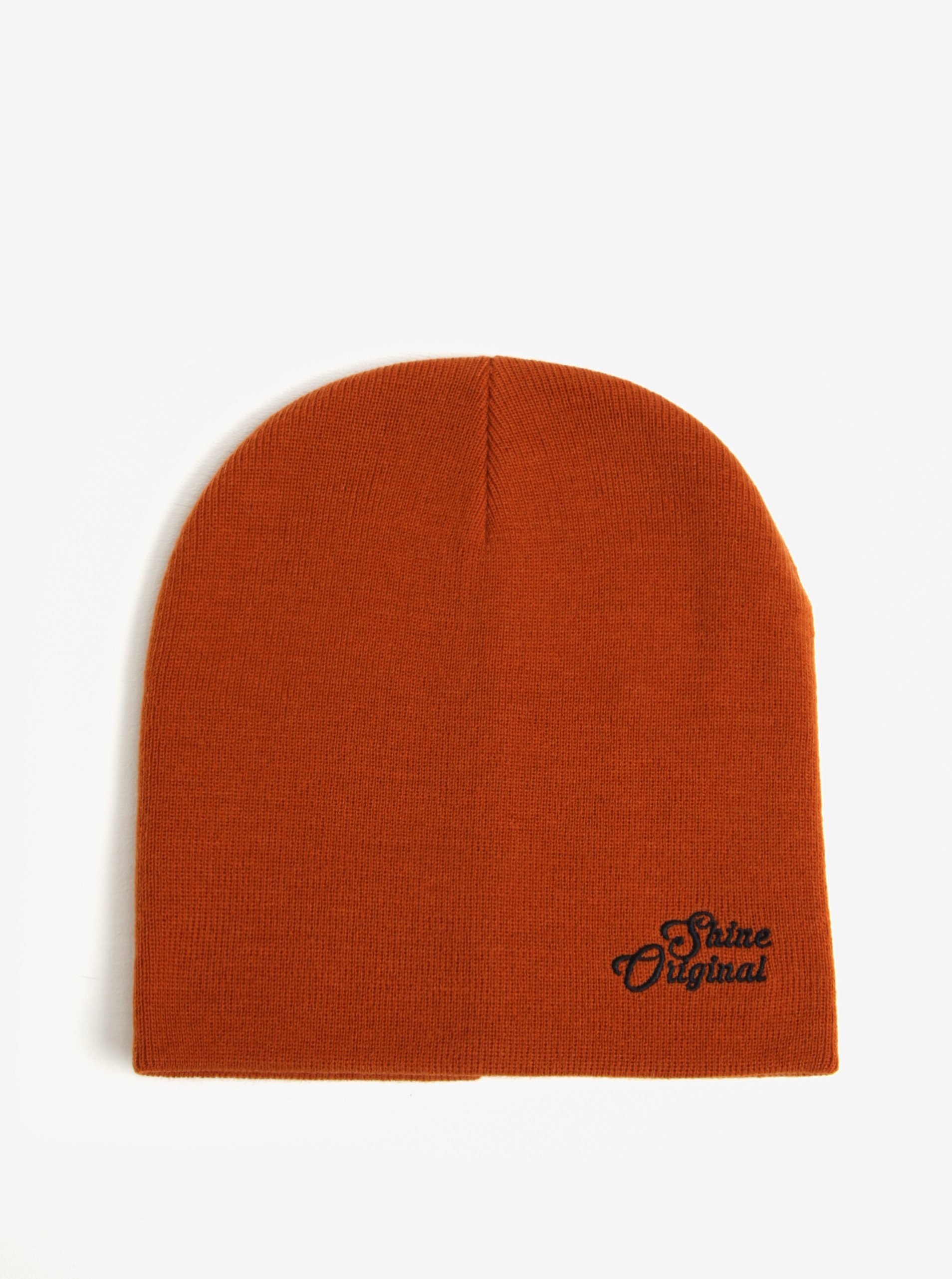d36641acc54 Oranžová čepice Shine Original – MUŽI   Doplňky   čepice