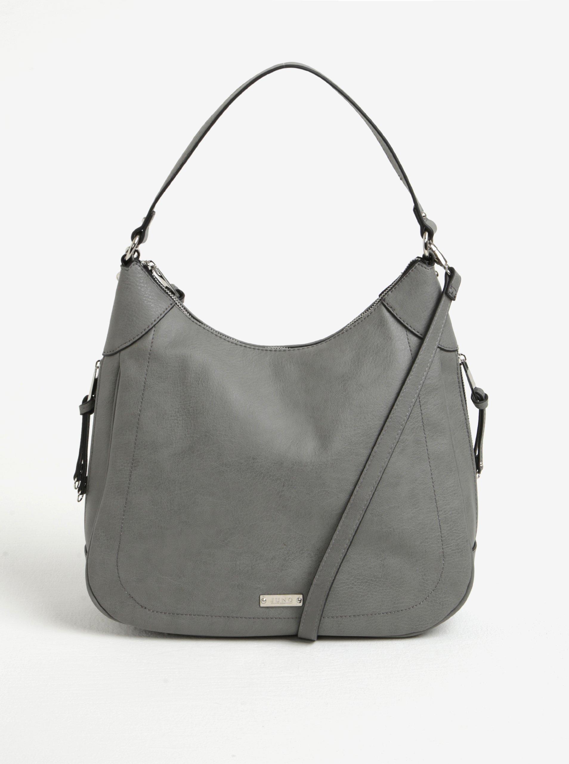 Sivá kabelka cez rameno Juno