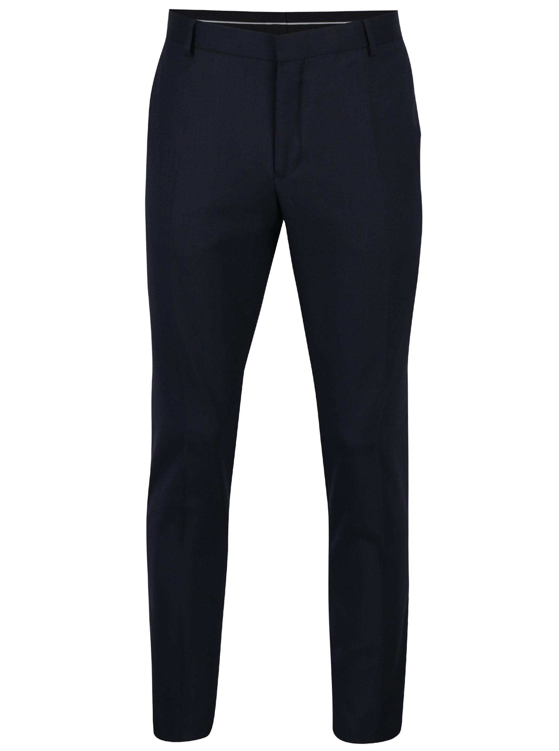 50aeaee7d86c Tmavomodré oblekové nohavice Selected Homme Done-Tux