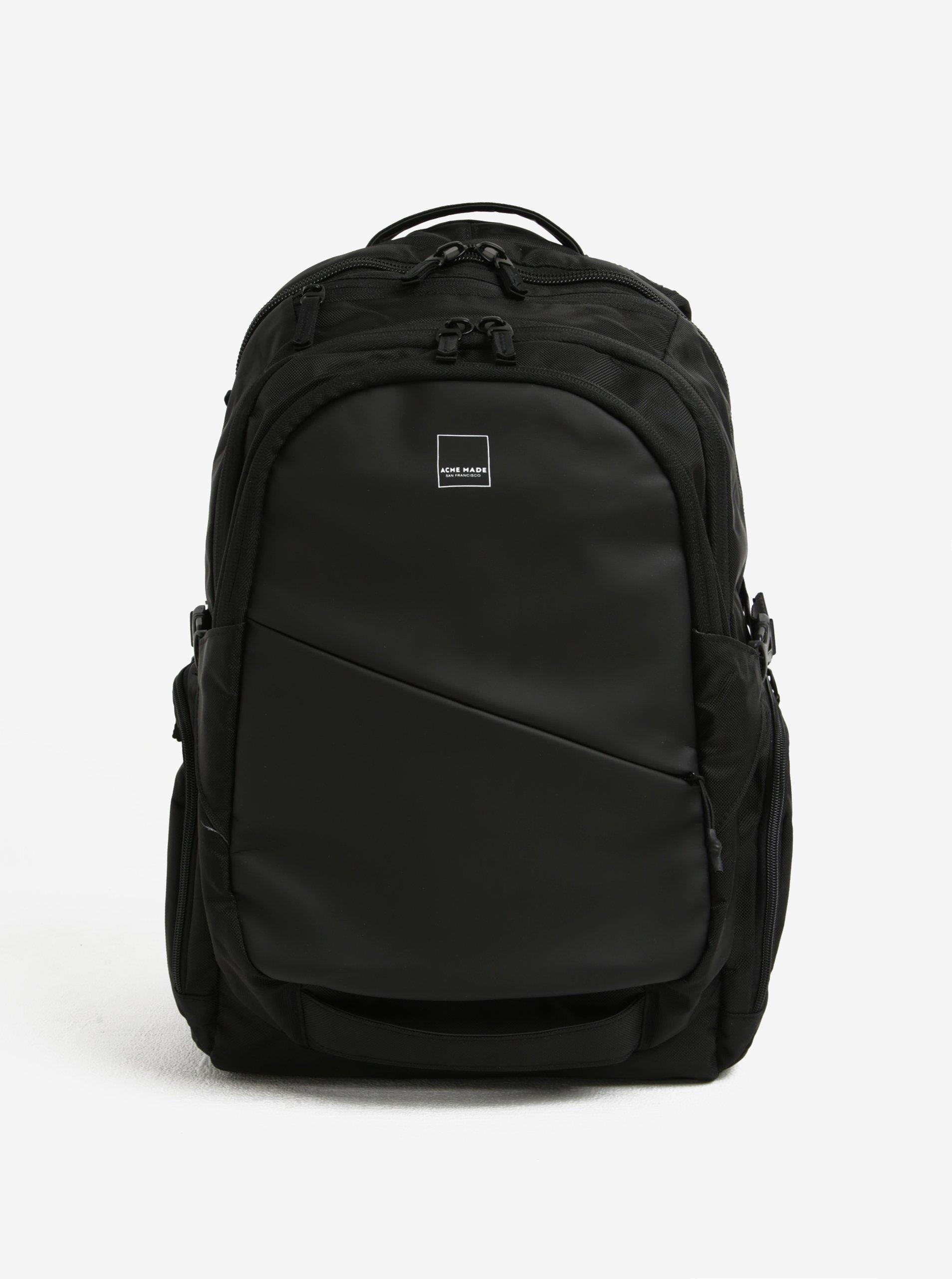 Černý batoh Acme Made Union Street Traveler Backpack 28 l