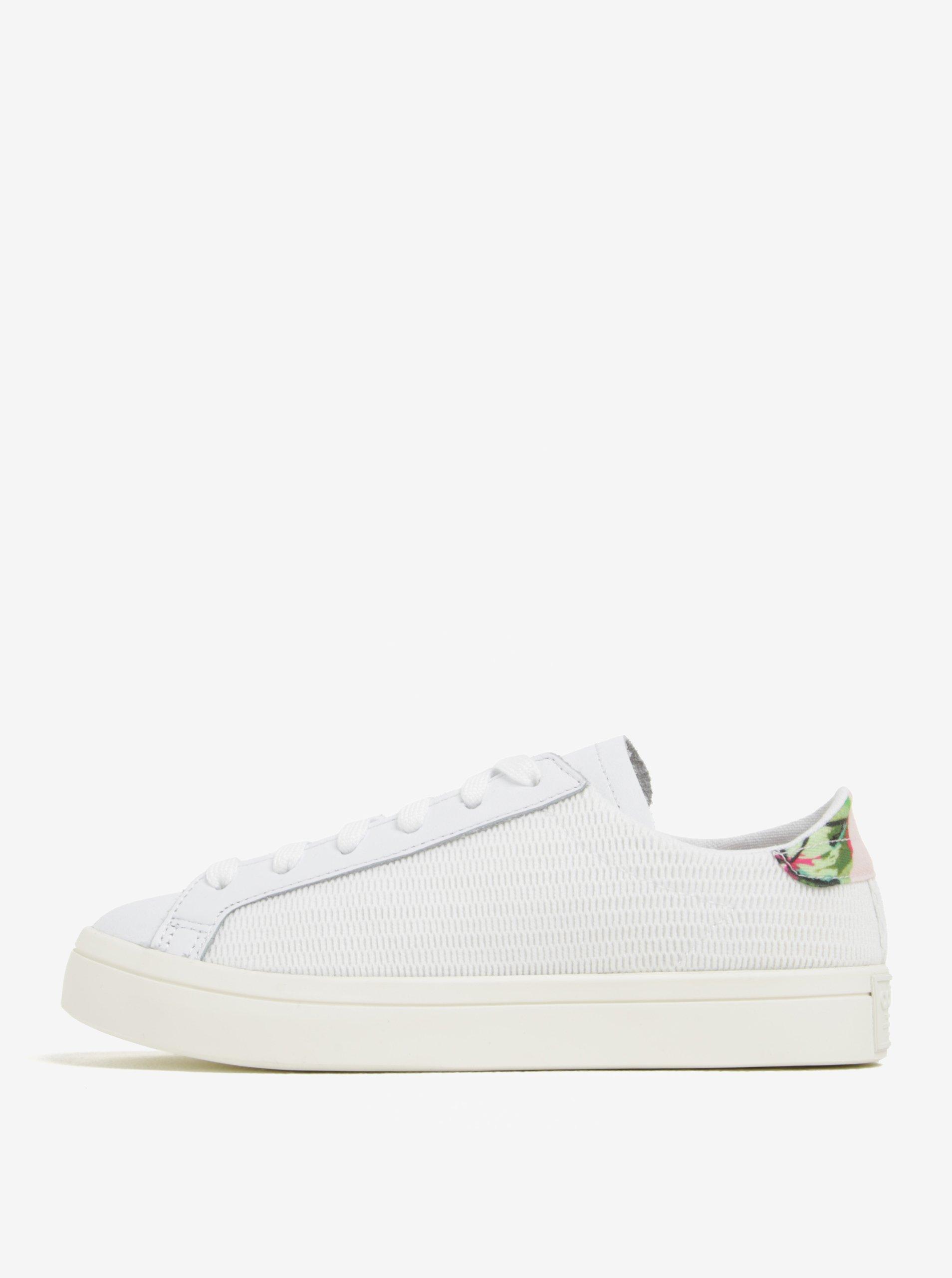 Bílé dámské tenisky adidas Originals Courtvantage