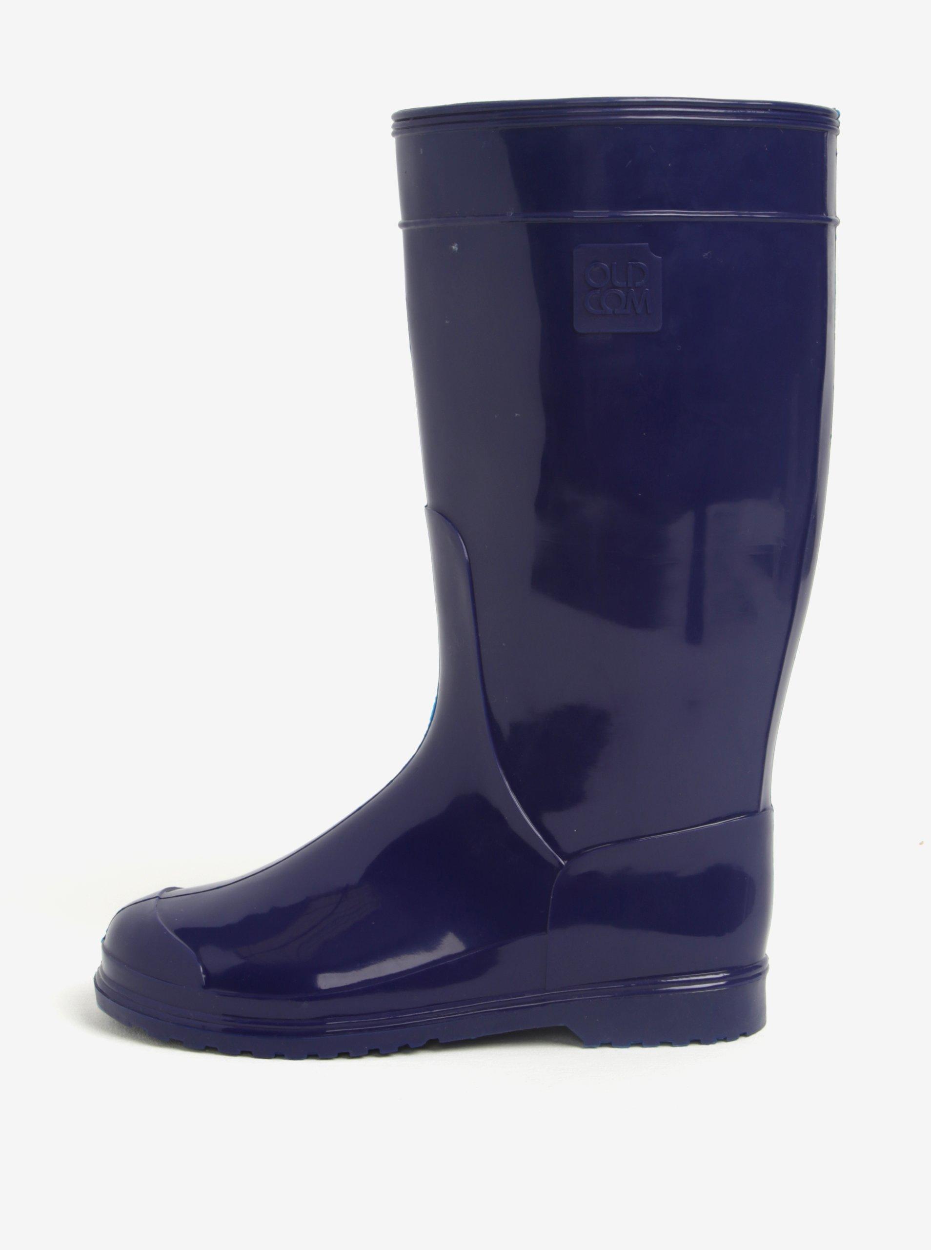 Tmavě modré dámské holínky Oldcom Classic