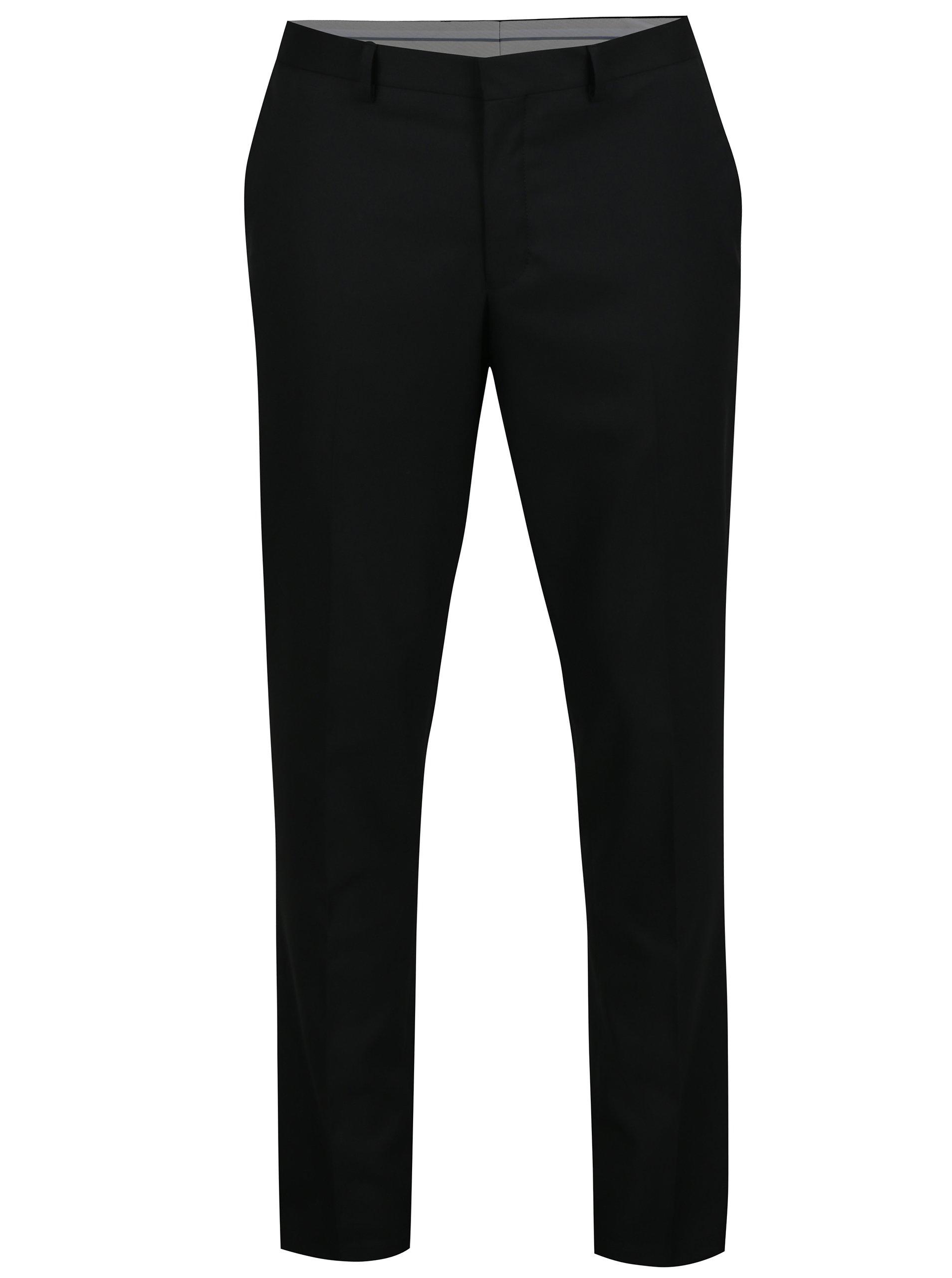 371733a0b50 Černé kalhoty Selected Homme Slim