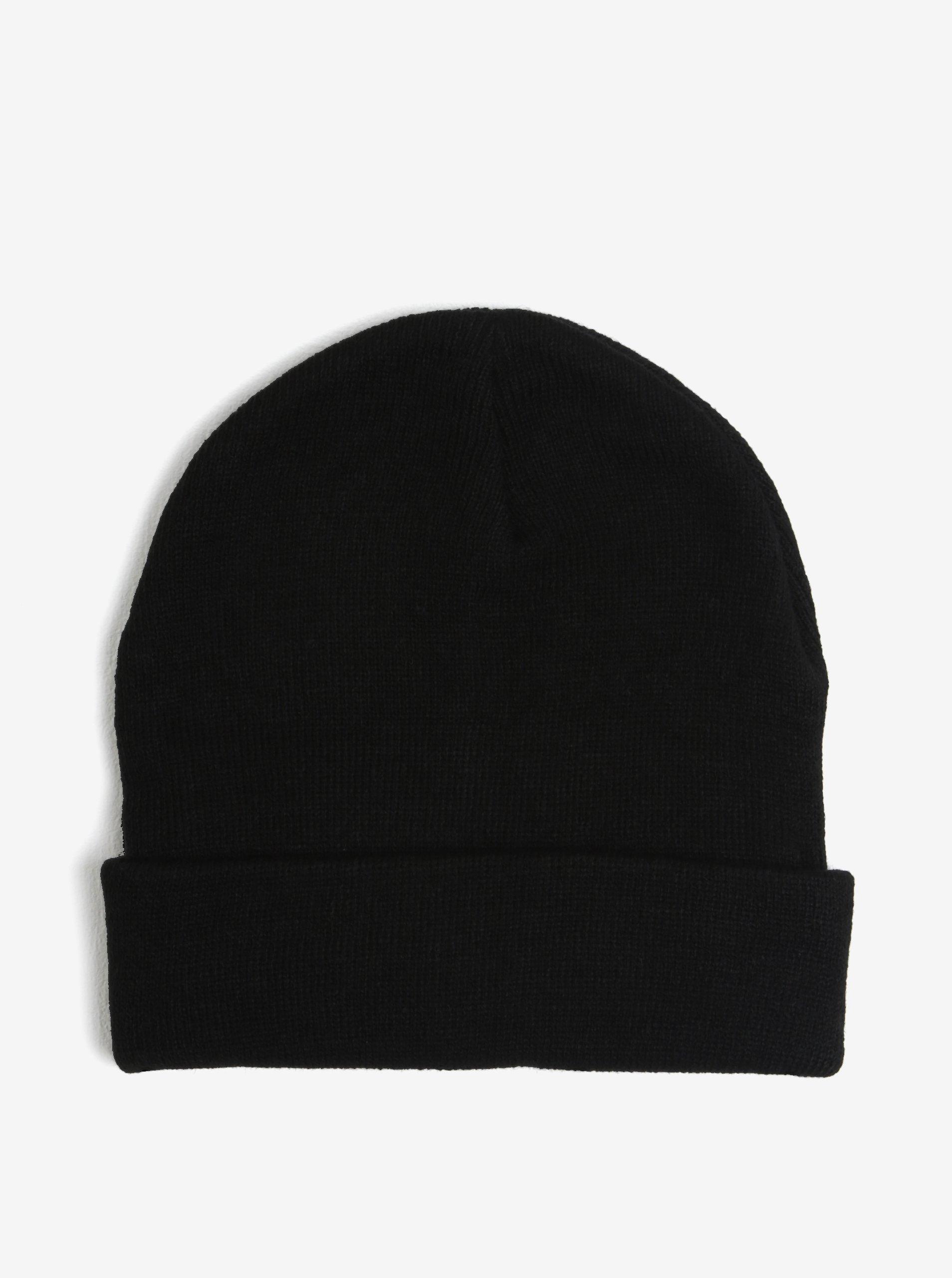 2ba9f940b37 Černá pánská čepice s.Oliver