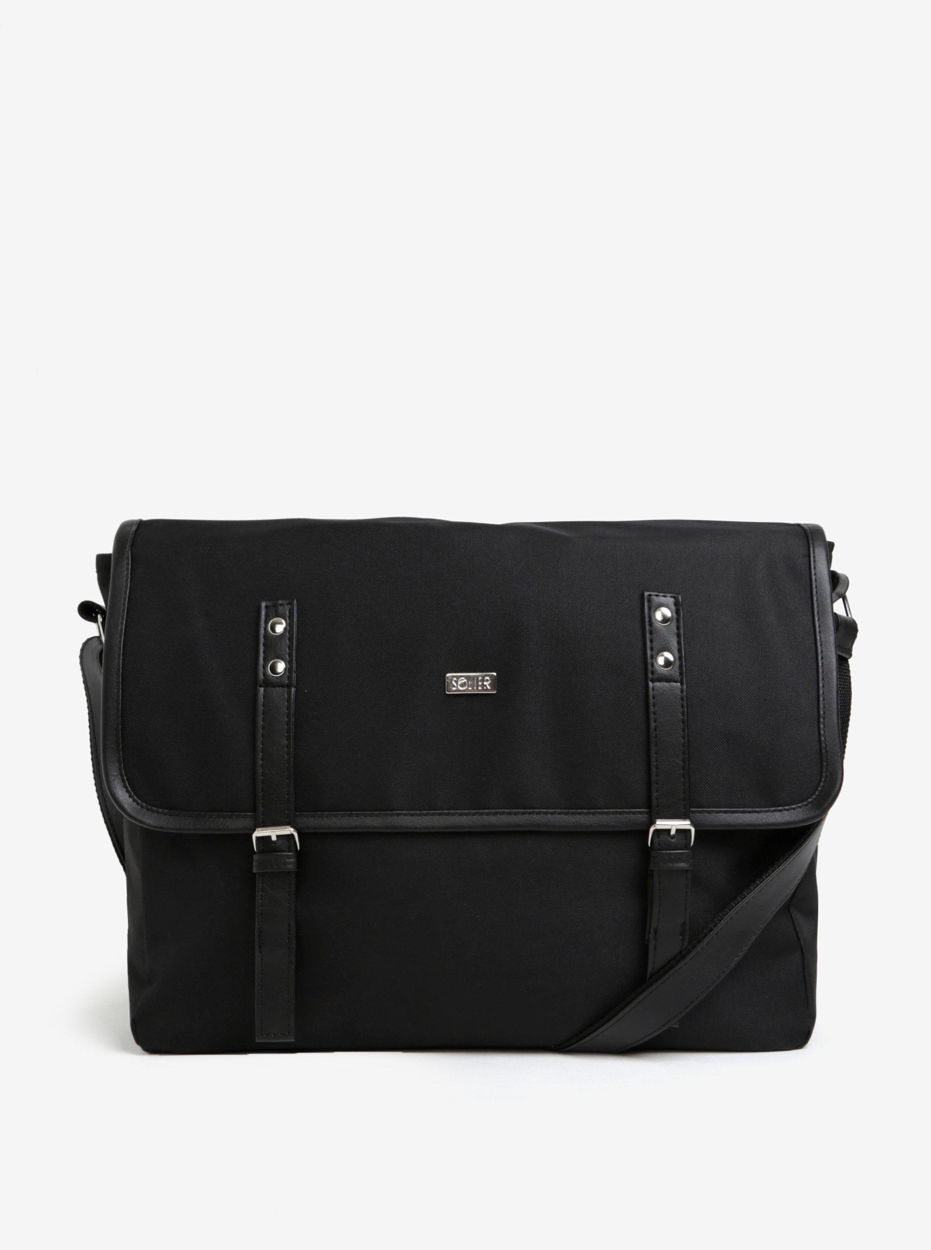 Čierna pánska taška Solier