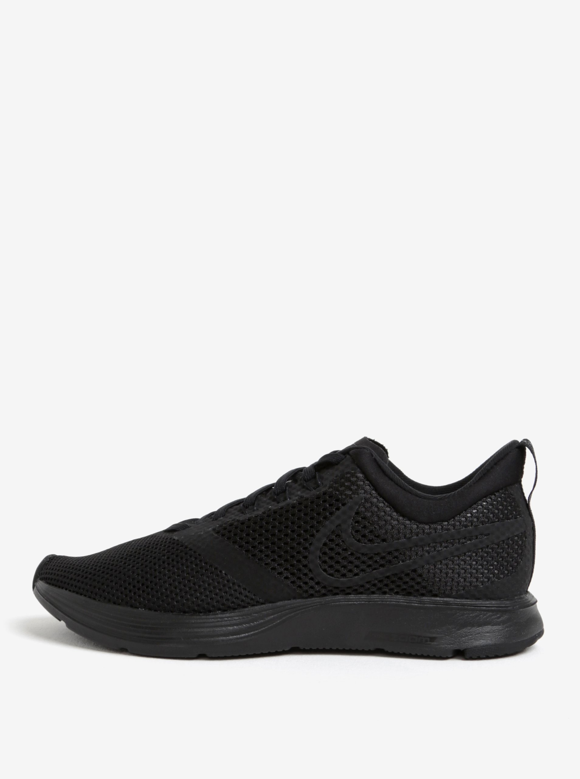 Černé dámské tenisky Nike Zoom Strike Running
