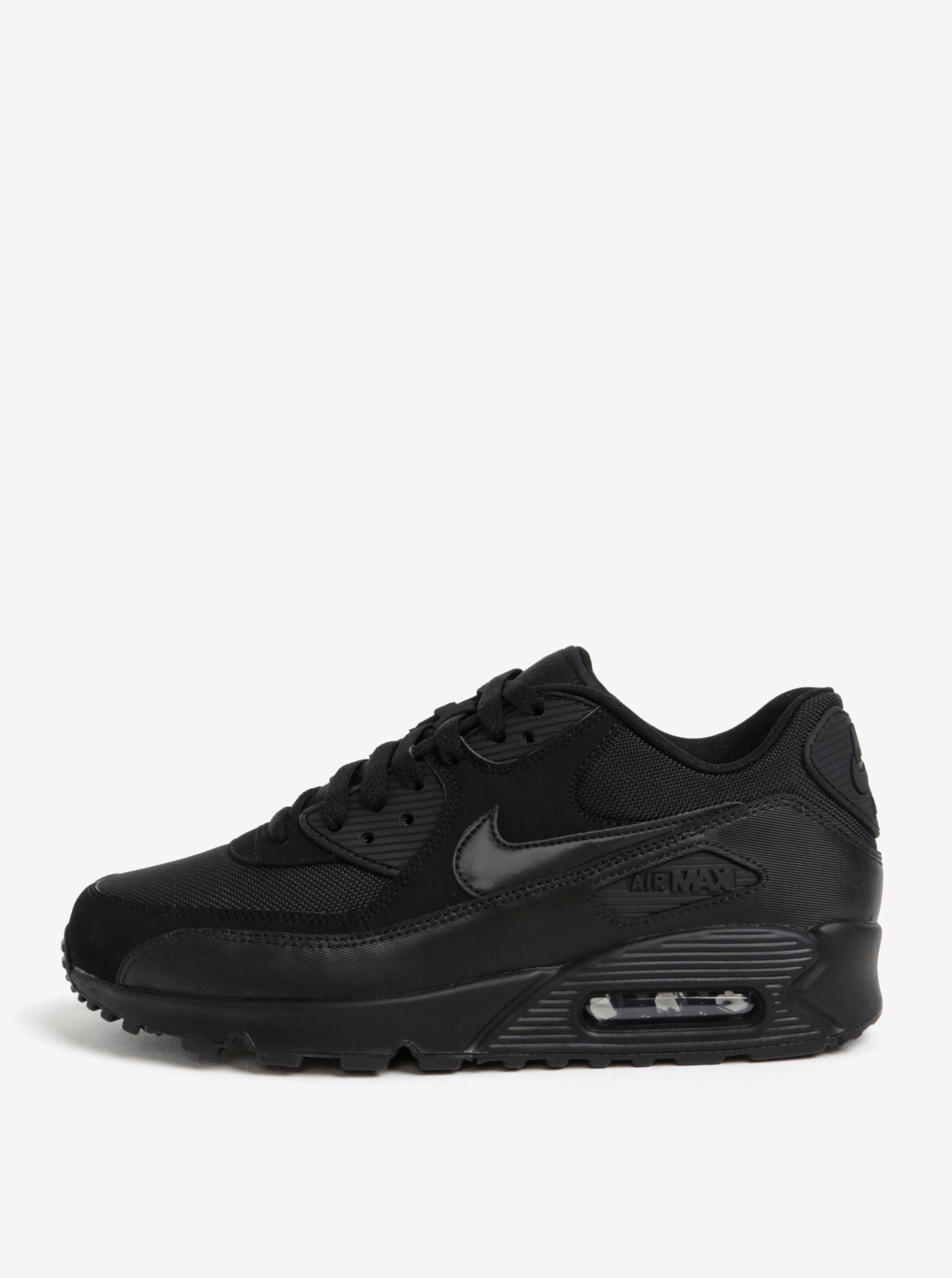 b2ae54bdb85 Černé pánské semišové tenisky Nike Air Max  90 Essential