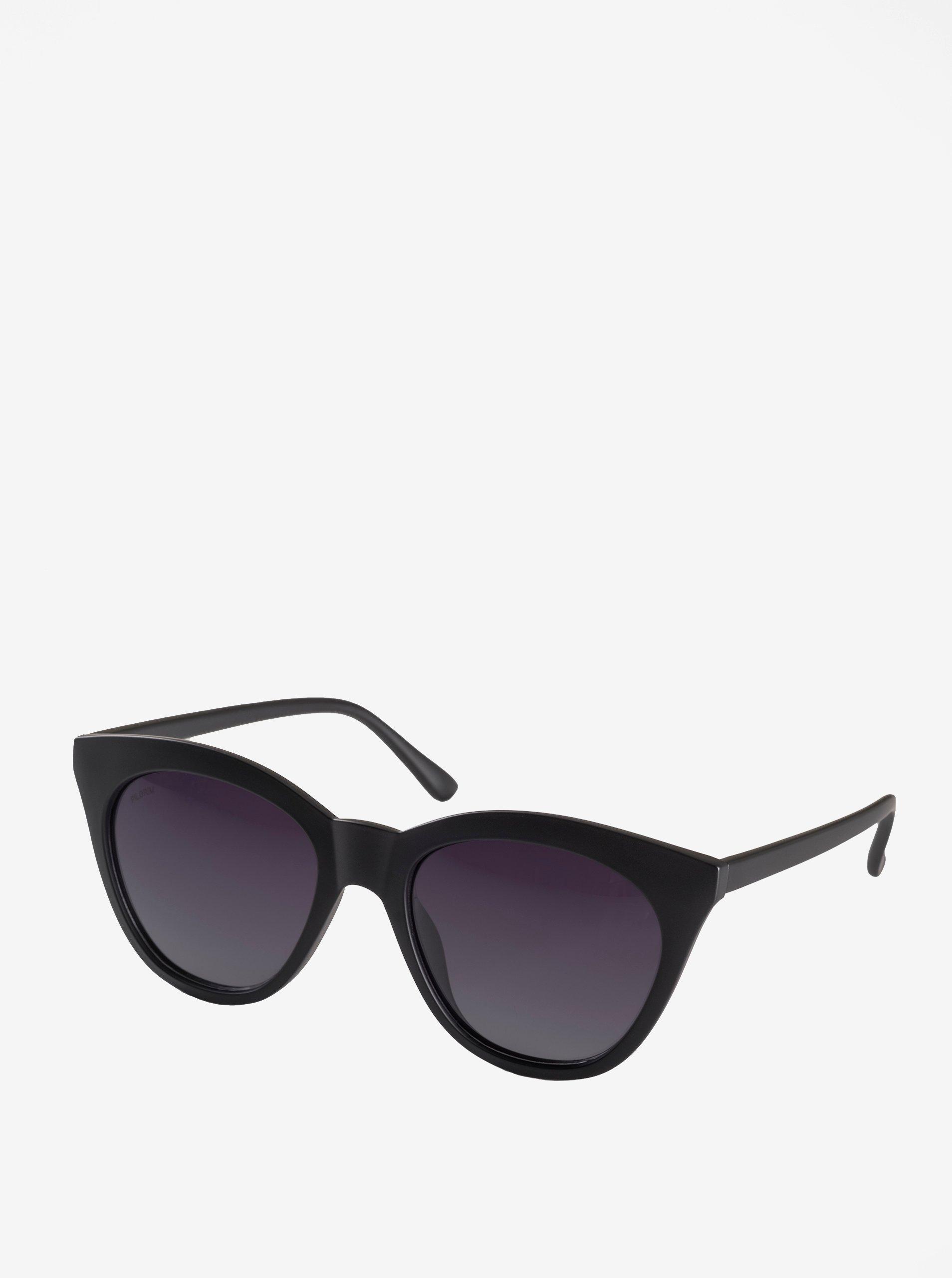 Čierne dámske slnečné okuliare Pilgrim Ivy 482fbcb4e80