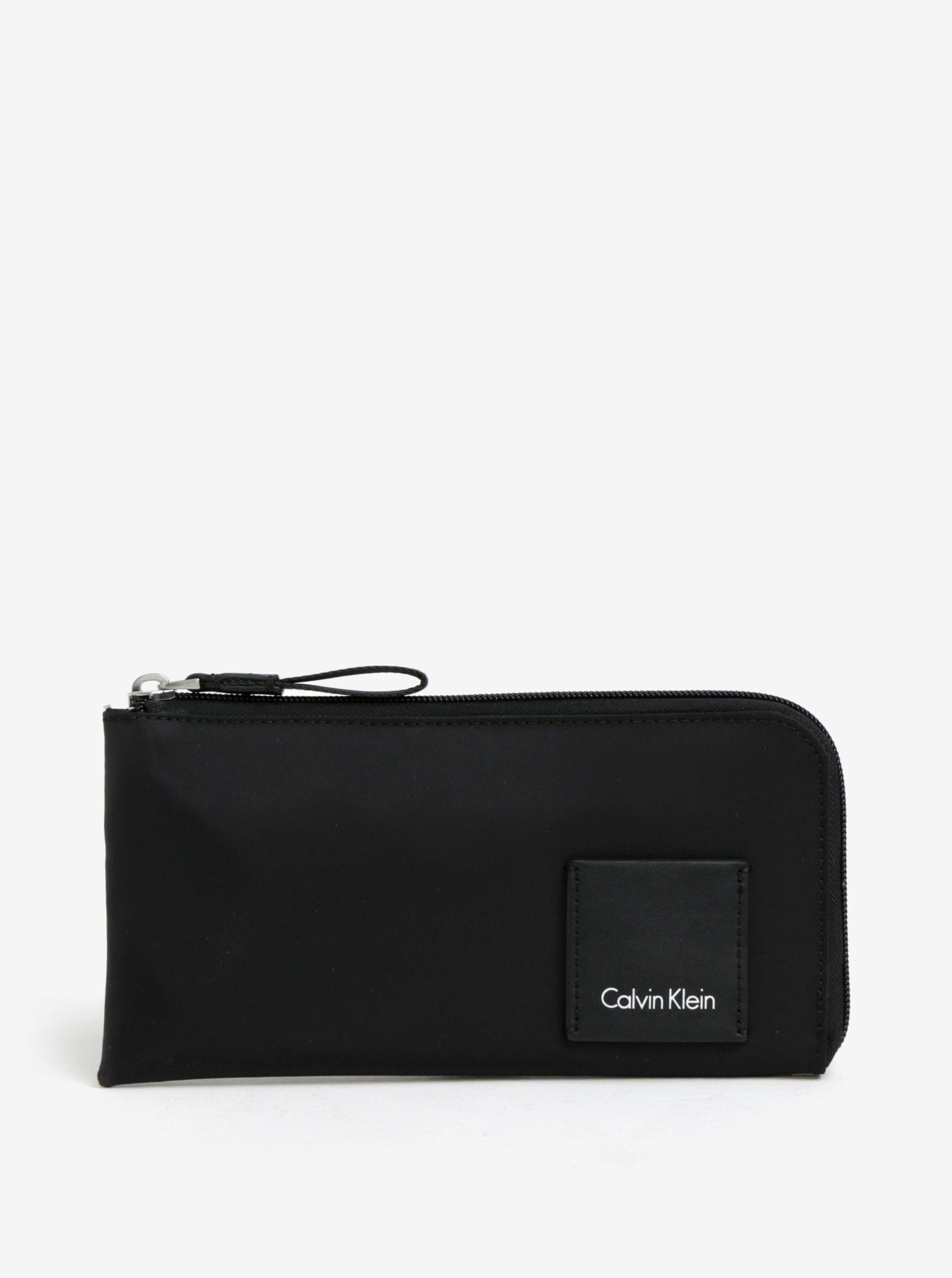Černá unisex peněženka Calvin Klein Jeans Fluid