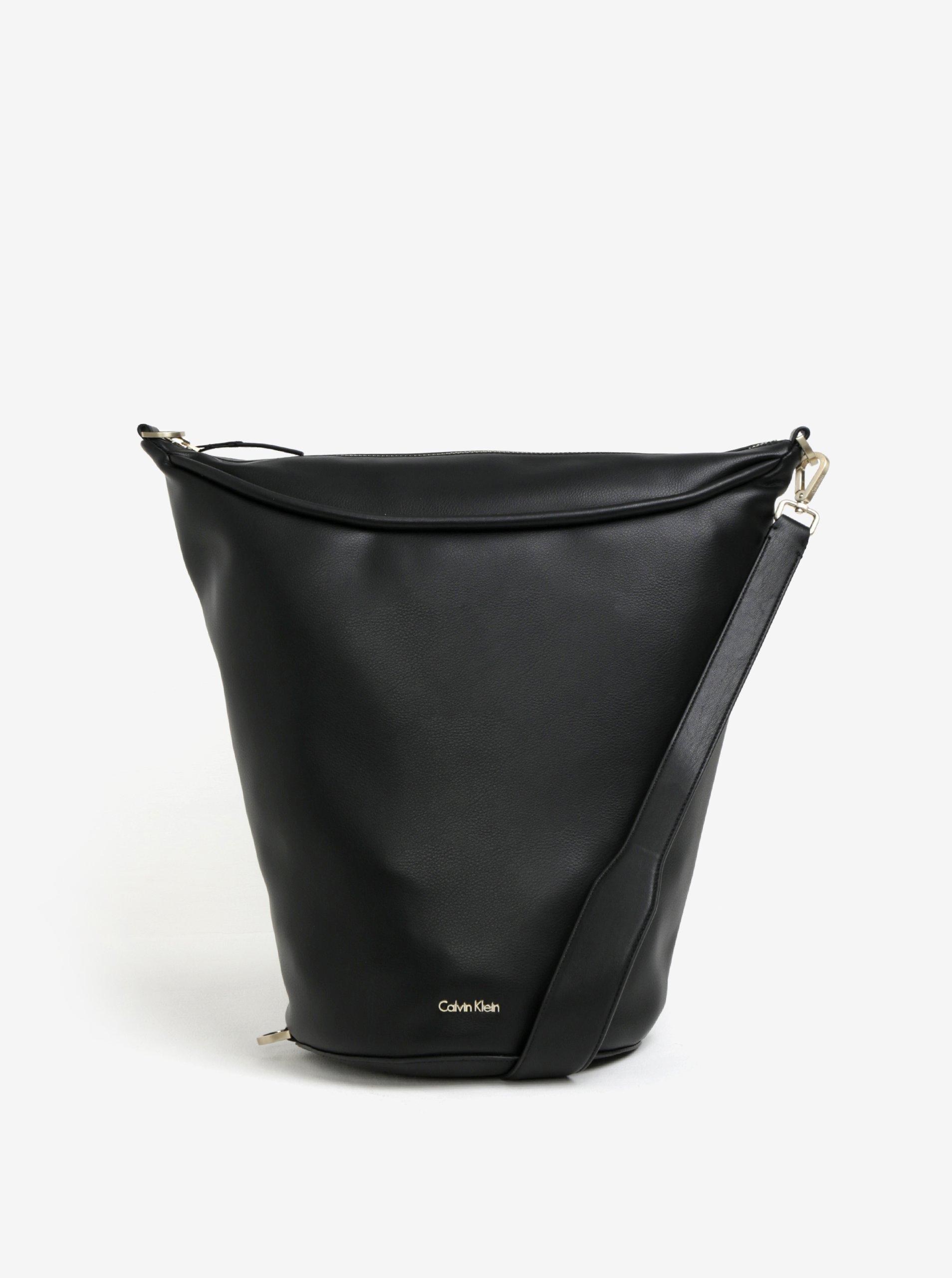 Černá kabelka přes rameno Calvin Klein Jeans Suave