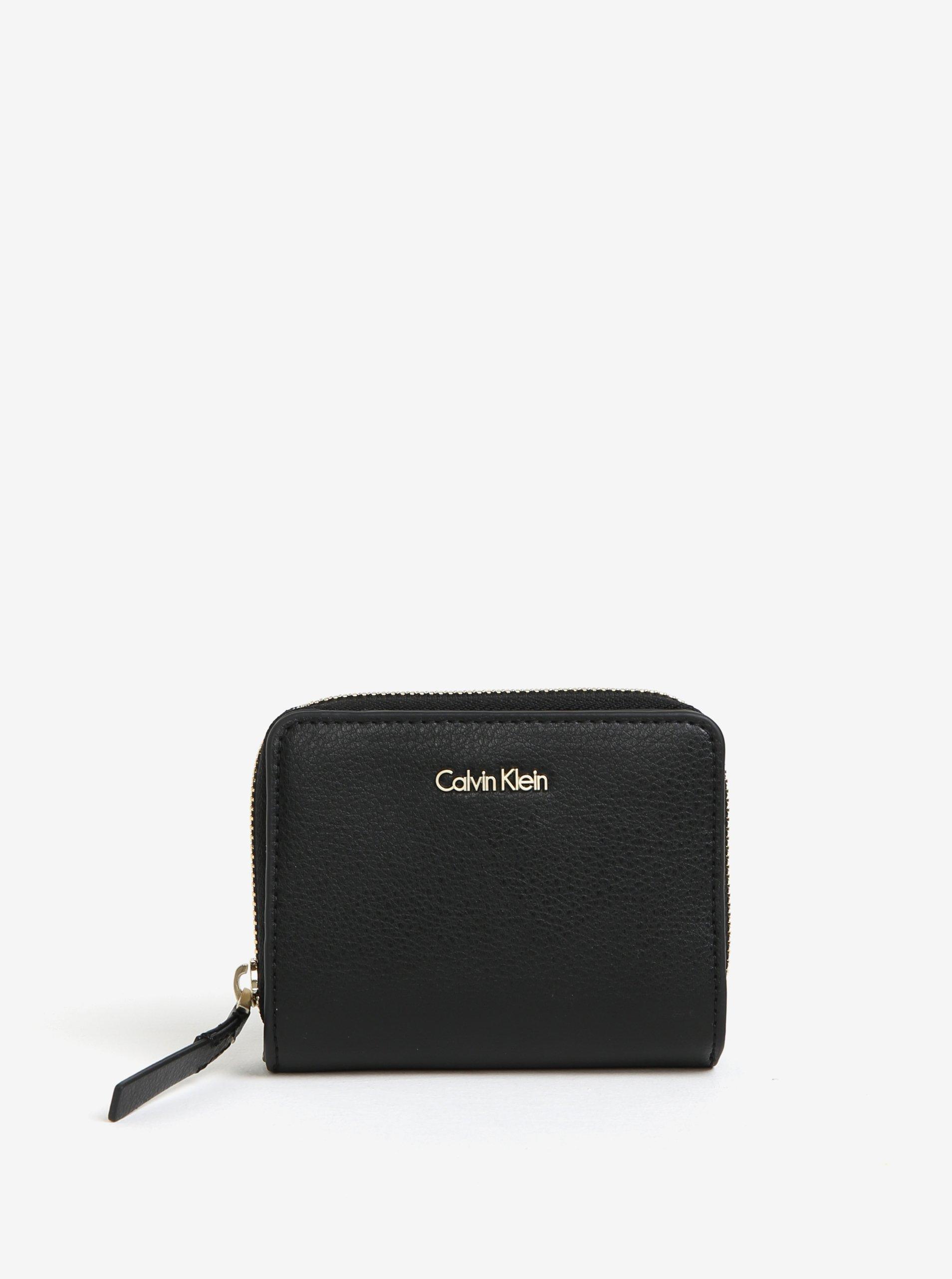 Černá peněženka se zipem Calvin Klein Jeans