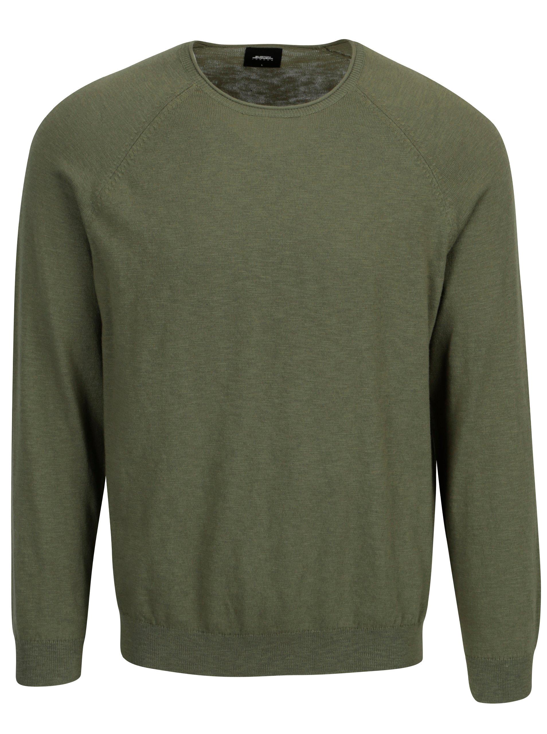 Zelený svetr Burton Menswear London