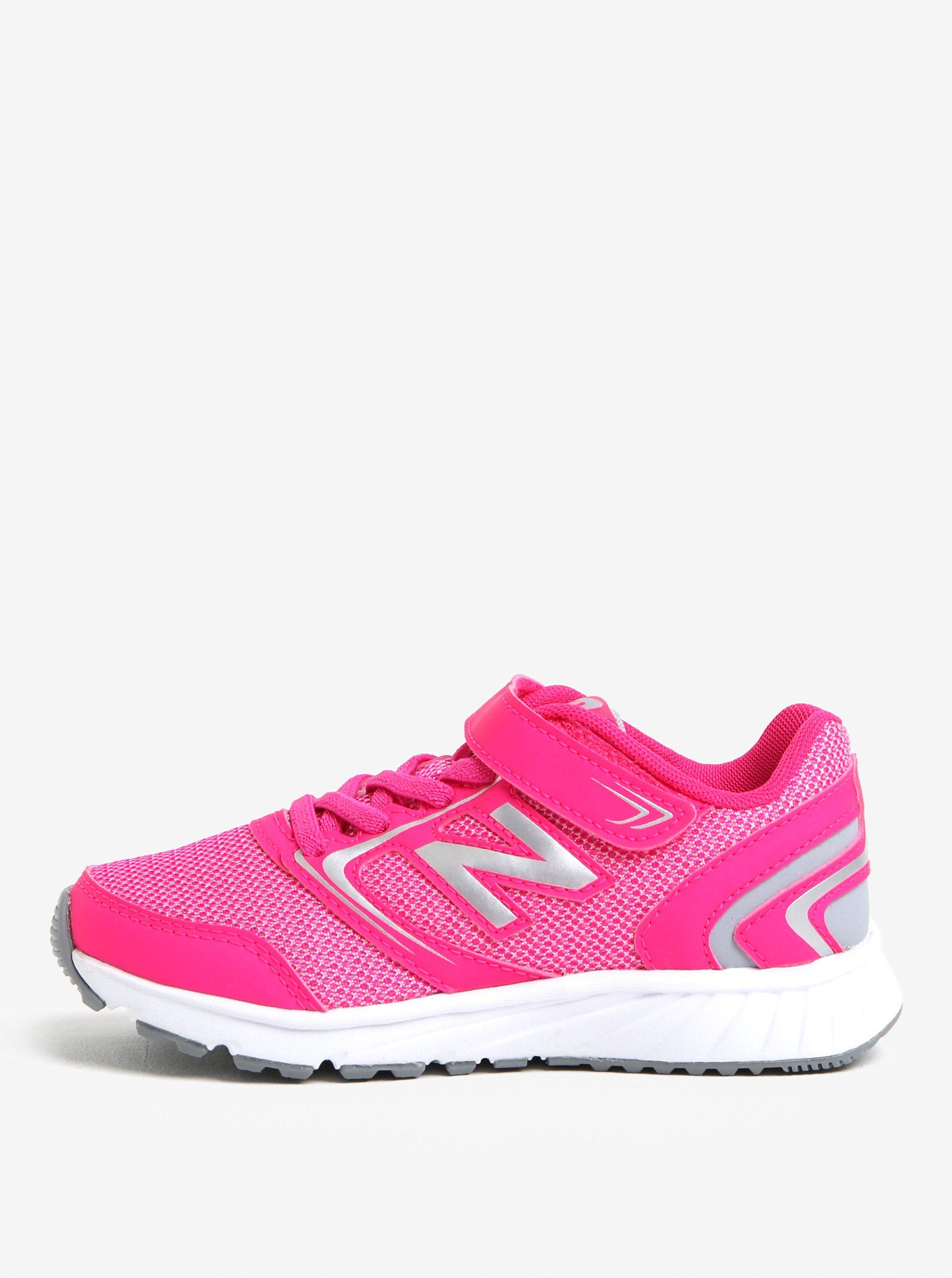 Růžové holčičí tenisky New Balance