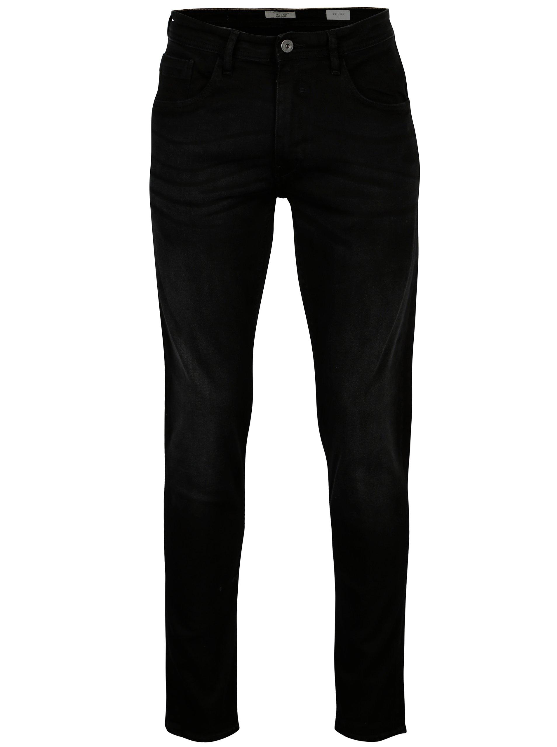 Černé pánské džíny Blend 434ba5abd9