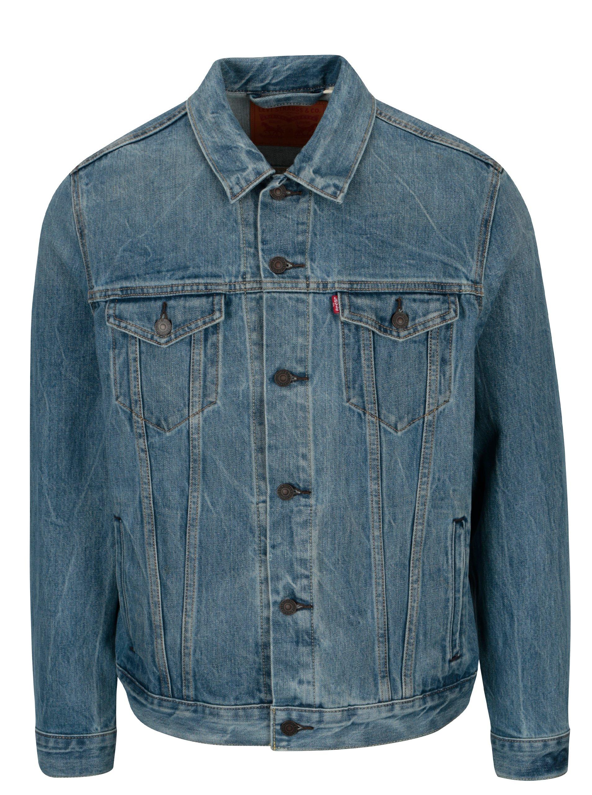 Modrá pánská džínová bunda Levi's