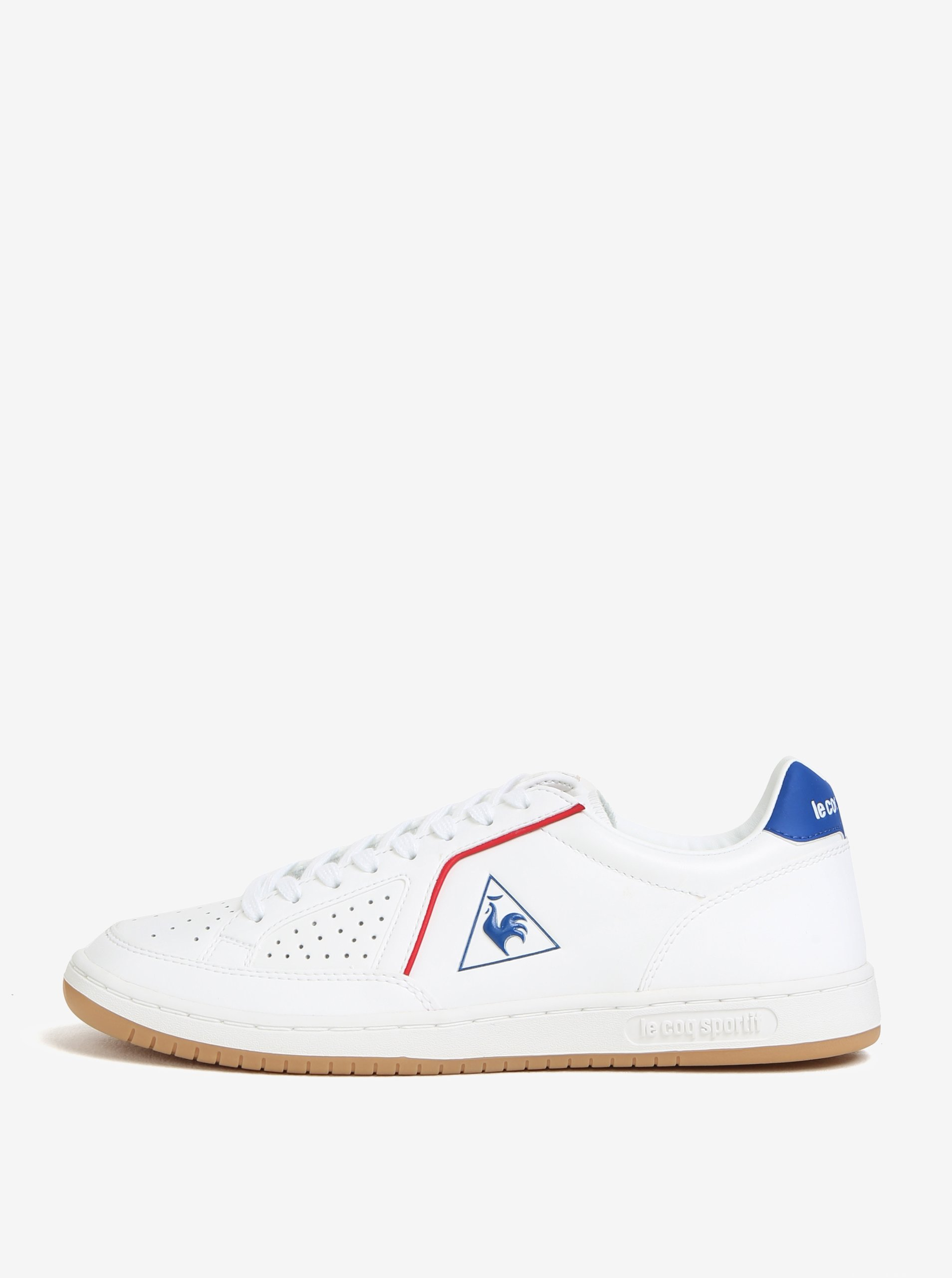 Modro-bílé pánské kožené tenisky Le Coq Sportif Icons Lea Sport Gum