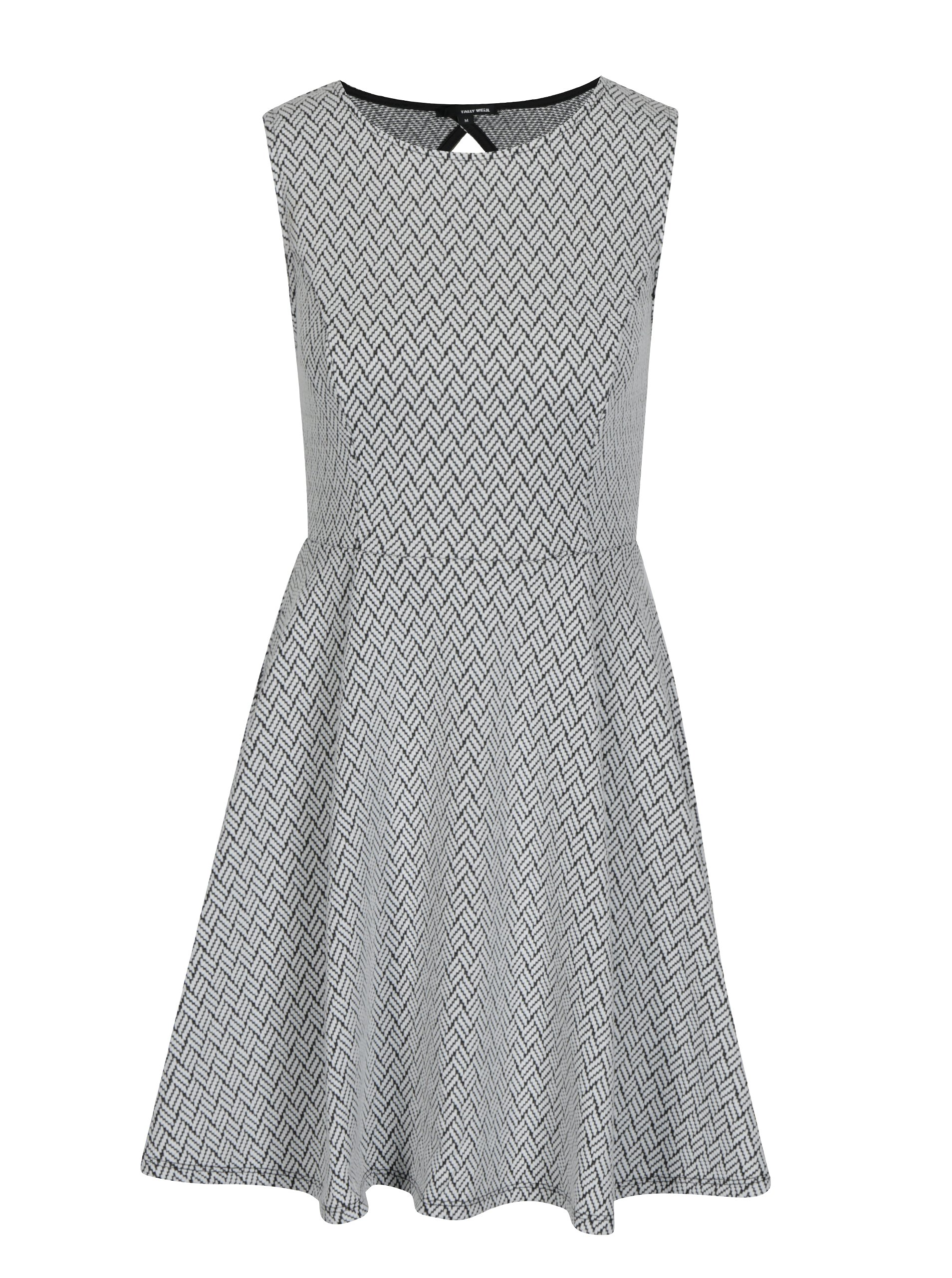 Sivé šaty TALLY WEiJL