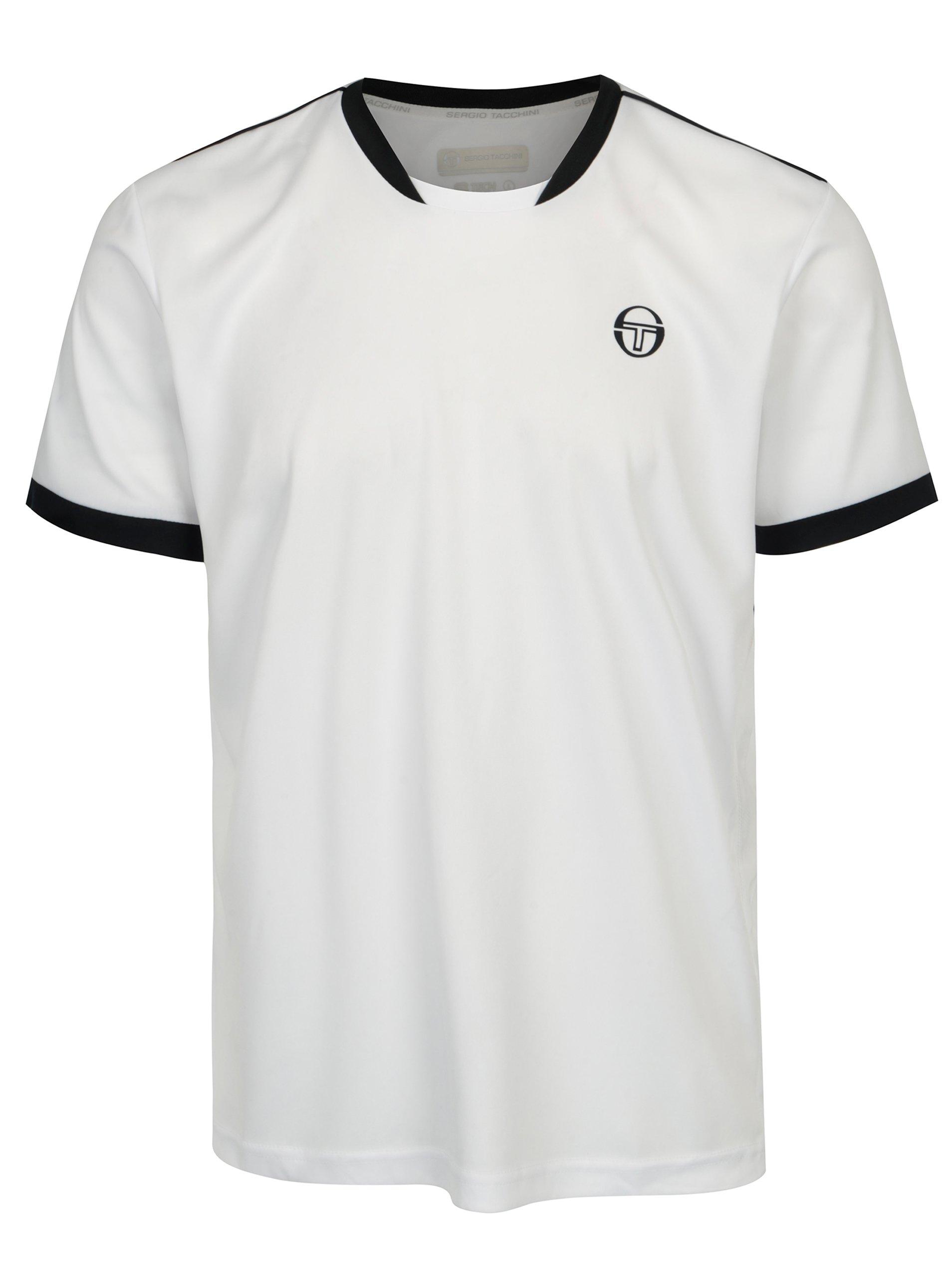 Bílé pánské sportovní tričko Sergio Tacchini Club Tech
