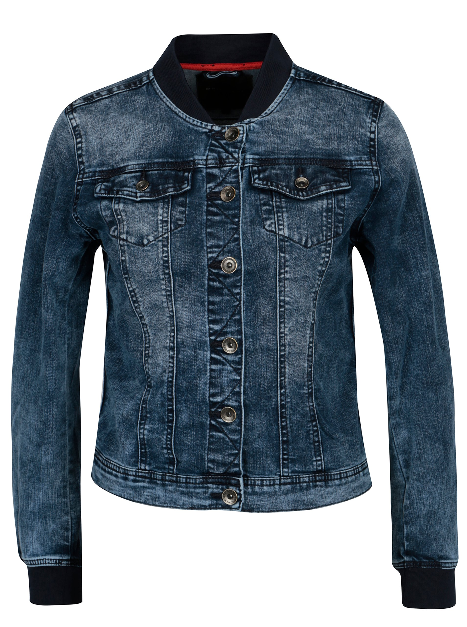 Tmavě modrá dámská džínová bunda Broadway Anya
