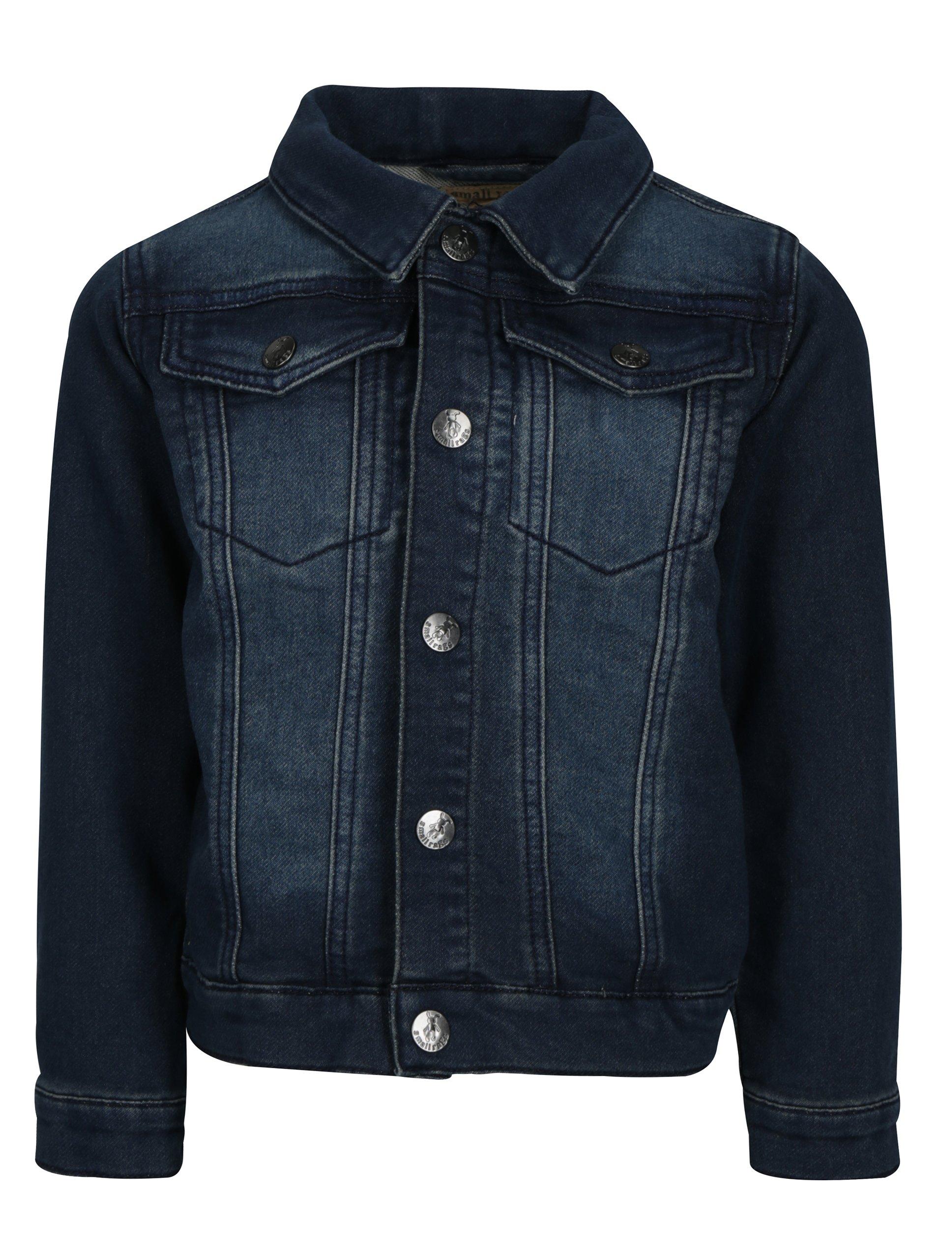Modrá klučičí džínová bunda small rags Gustav