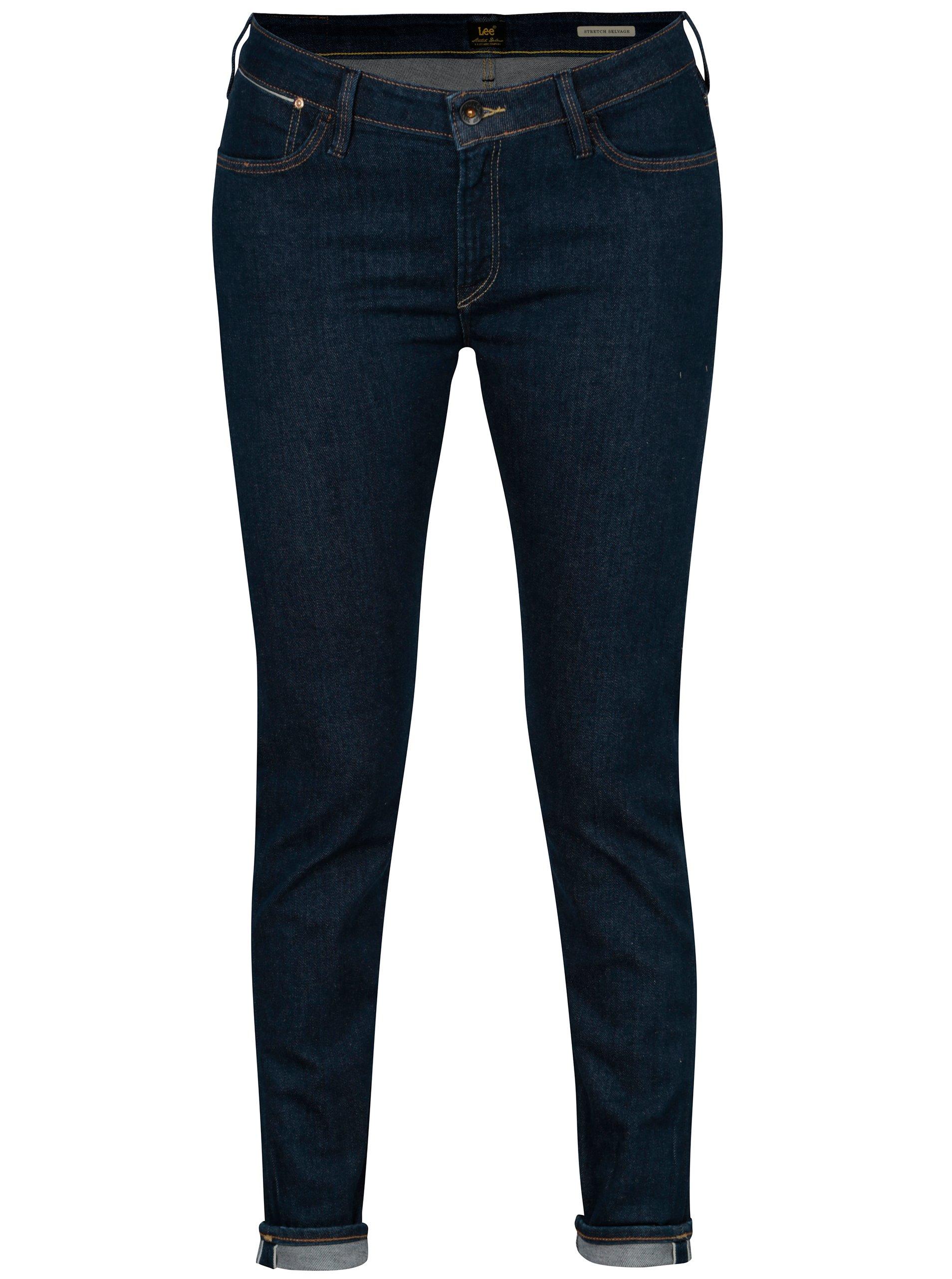 8ff5b33e816 Tmavě modré dámské skinny džíny Lee Scarlett