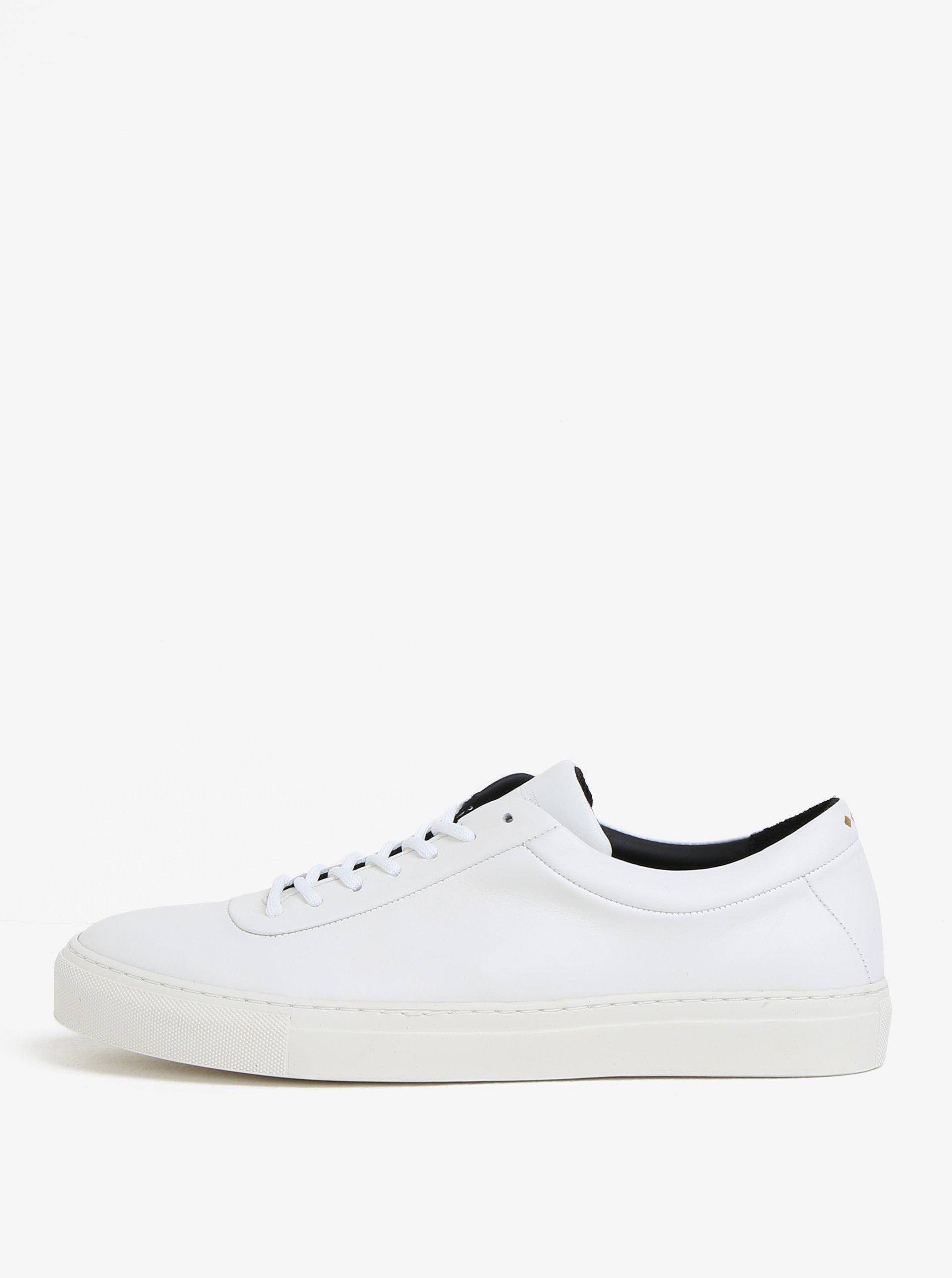 Bílé pánské kožené tenisky Royal RepubliQ