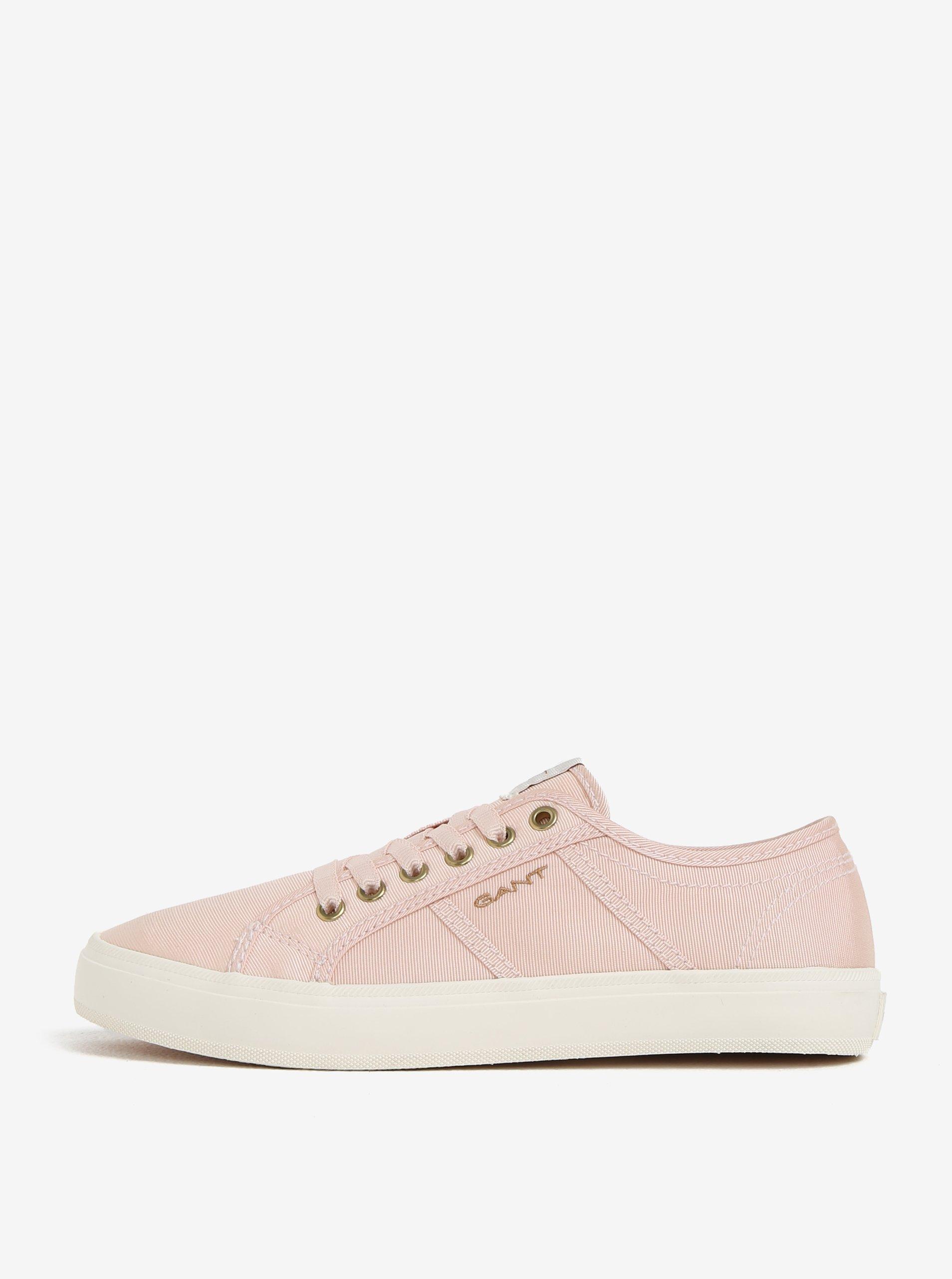 Světle růžové dámské tenisky GANT Zoe 49e0fe12f14