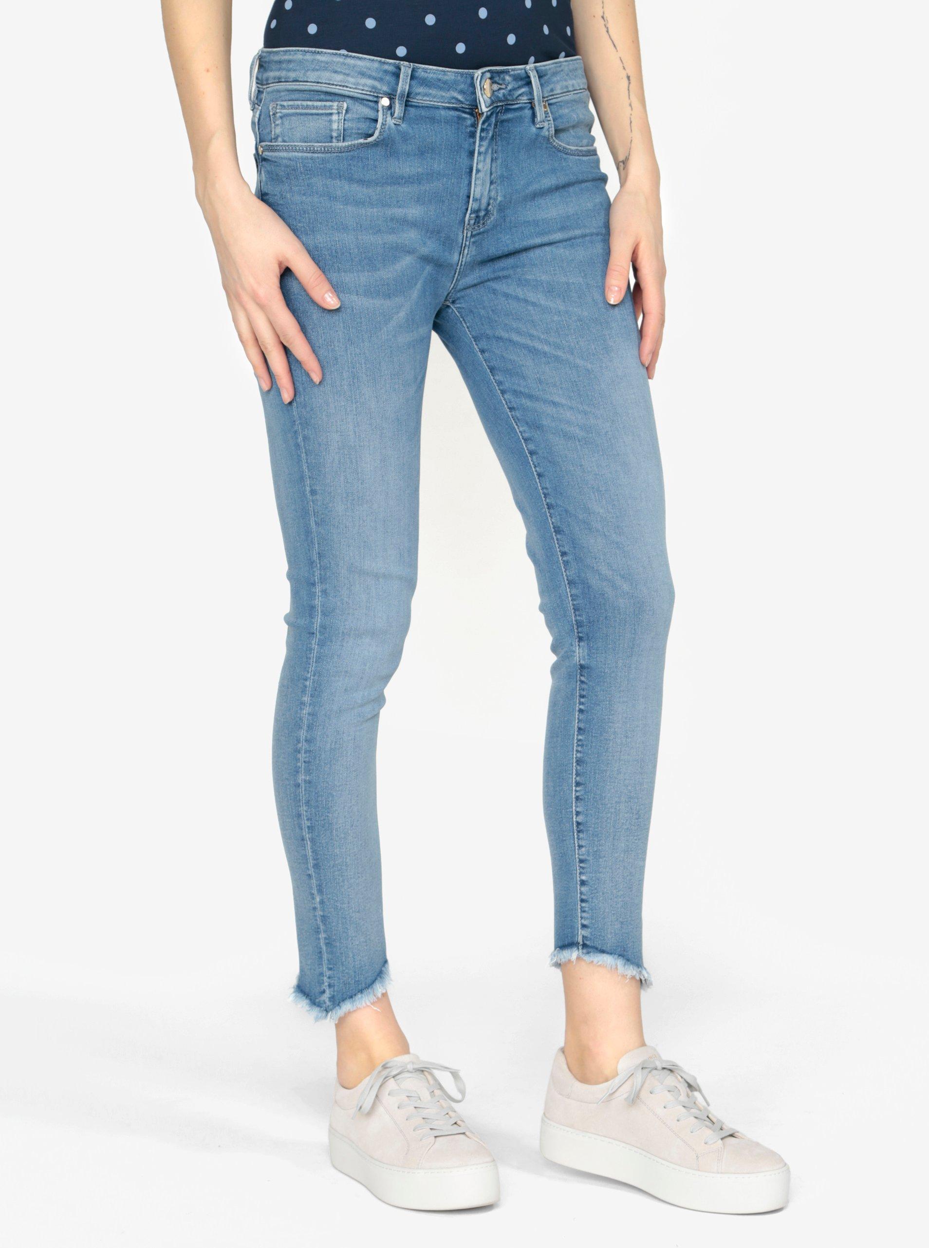 Světle modré dámské skinny džíny Tommy Hilfiger Nanny