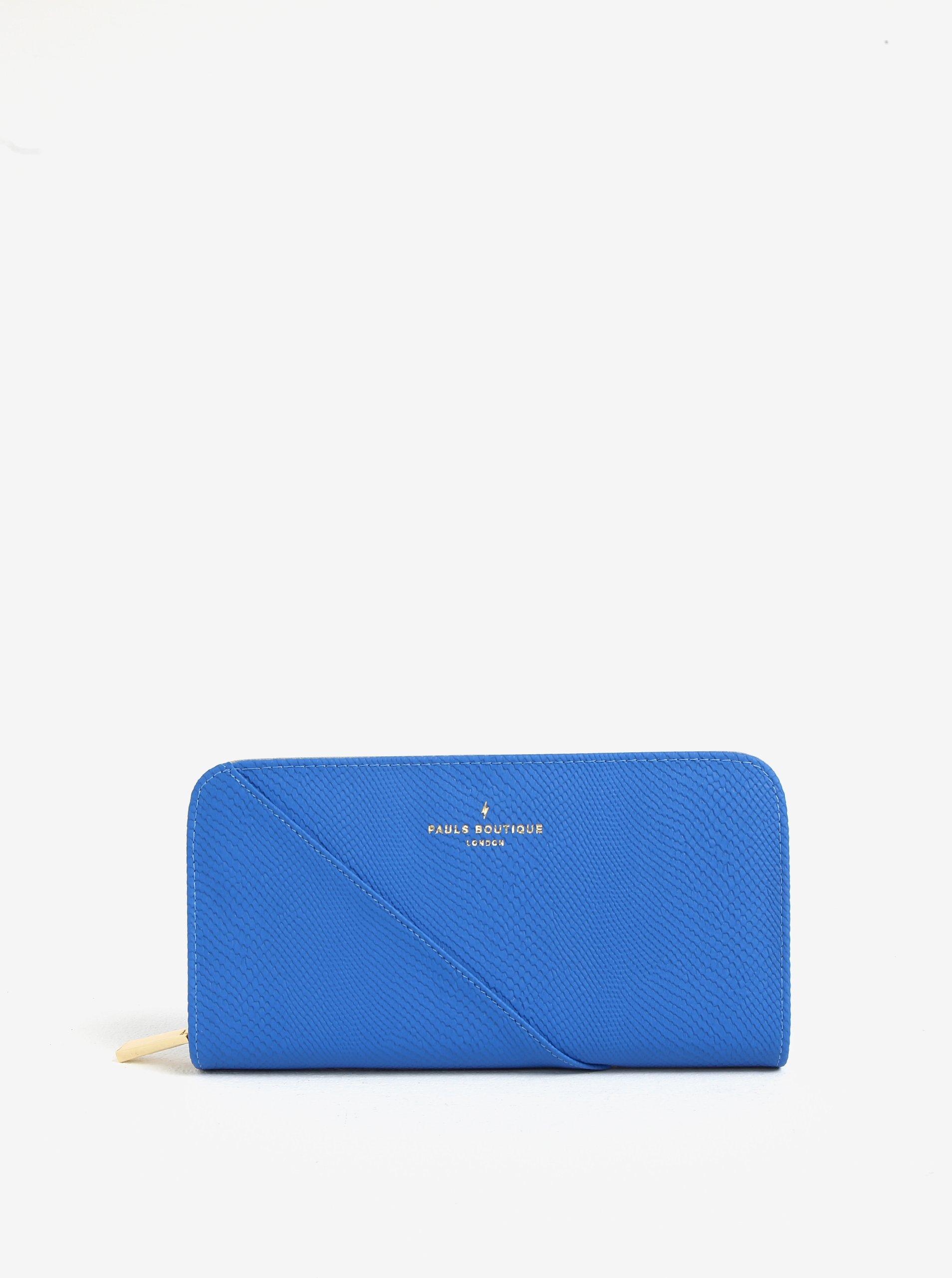 Modrá velká peněženka s jemným vzorem Paul´s Boutique Carla