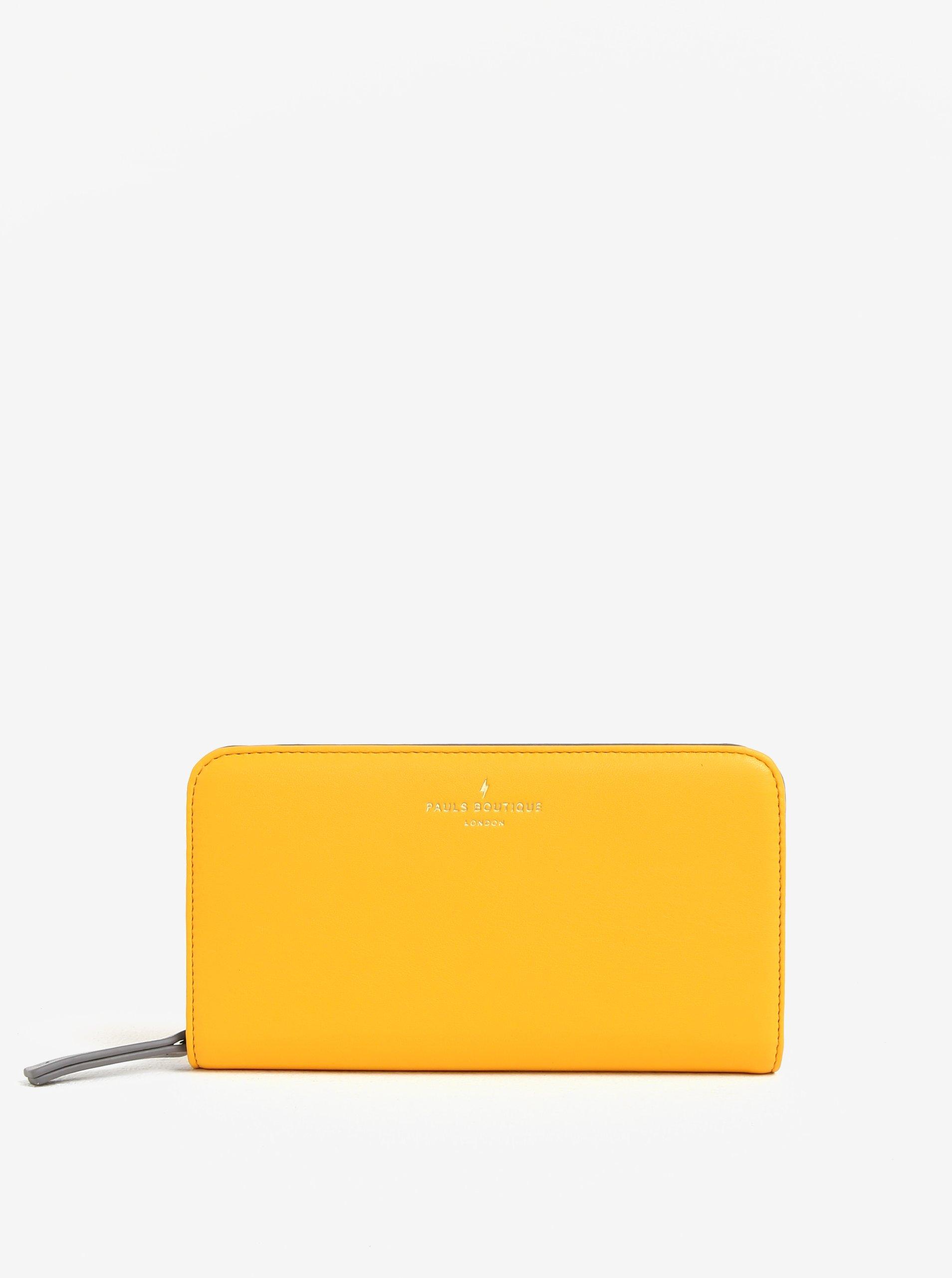 Žlutá velká peněženka Paul´s Boutique Carla