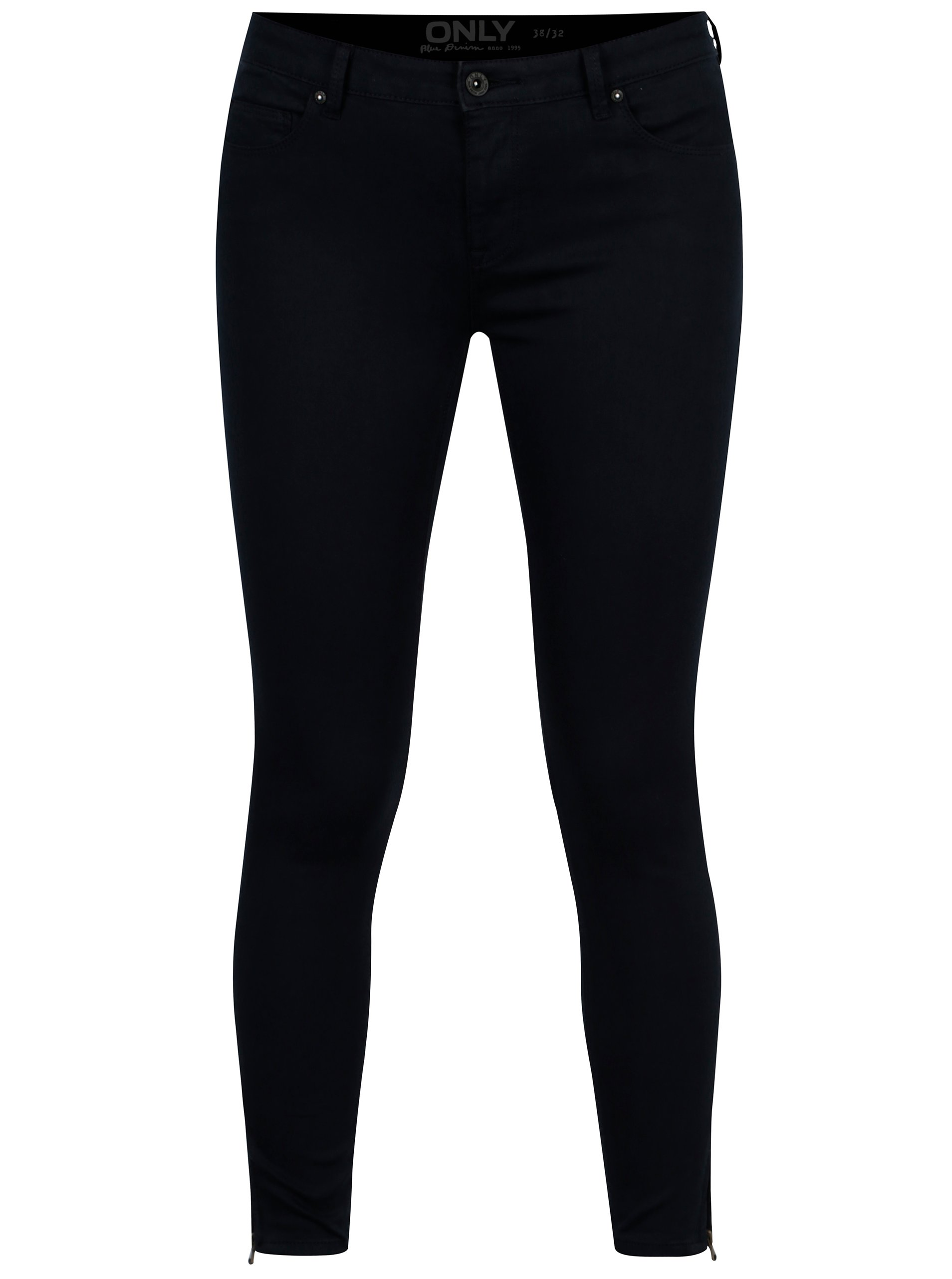 Tmavě modré skinny kalhoty ONLY Serena