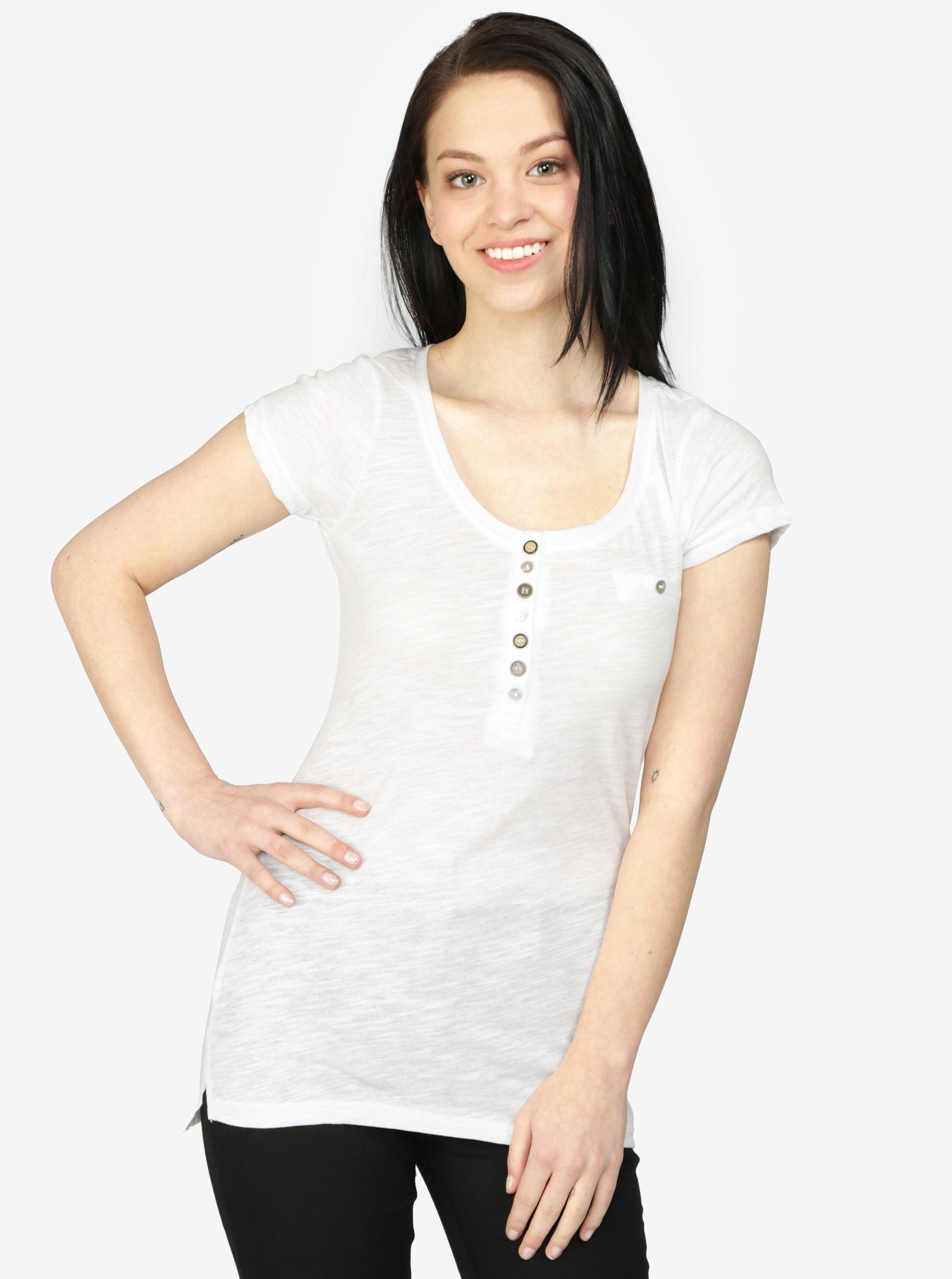 139edcb09ca2 Biele tričko s krátkym rukávom Haily s Edda