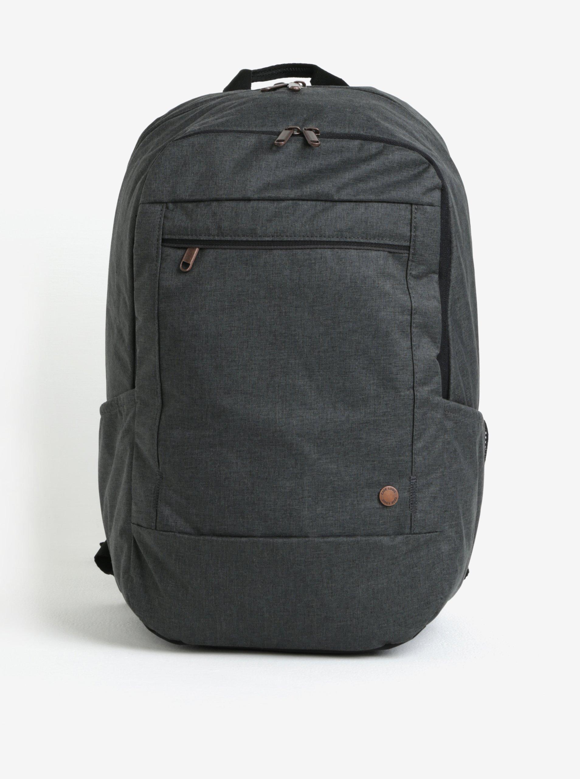 Tmavosivý melírovaný batoh na notebook 23l Case Logic Era