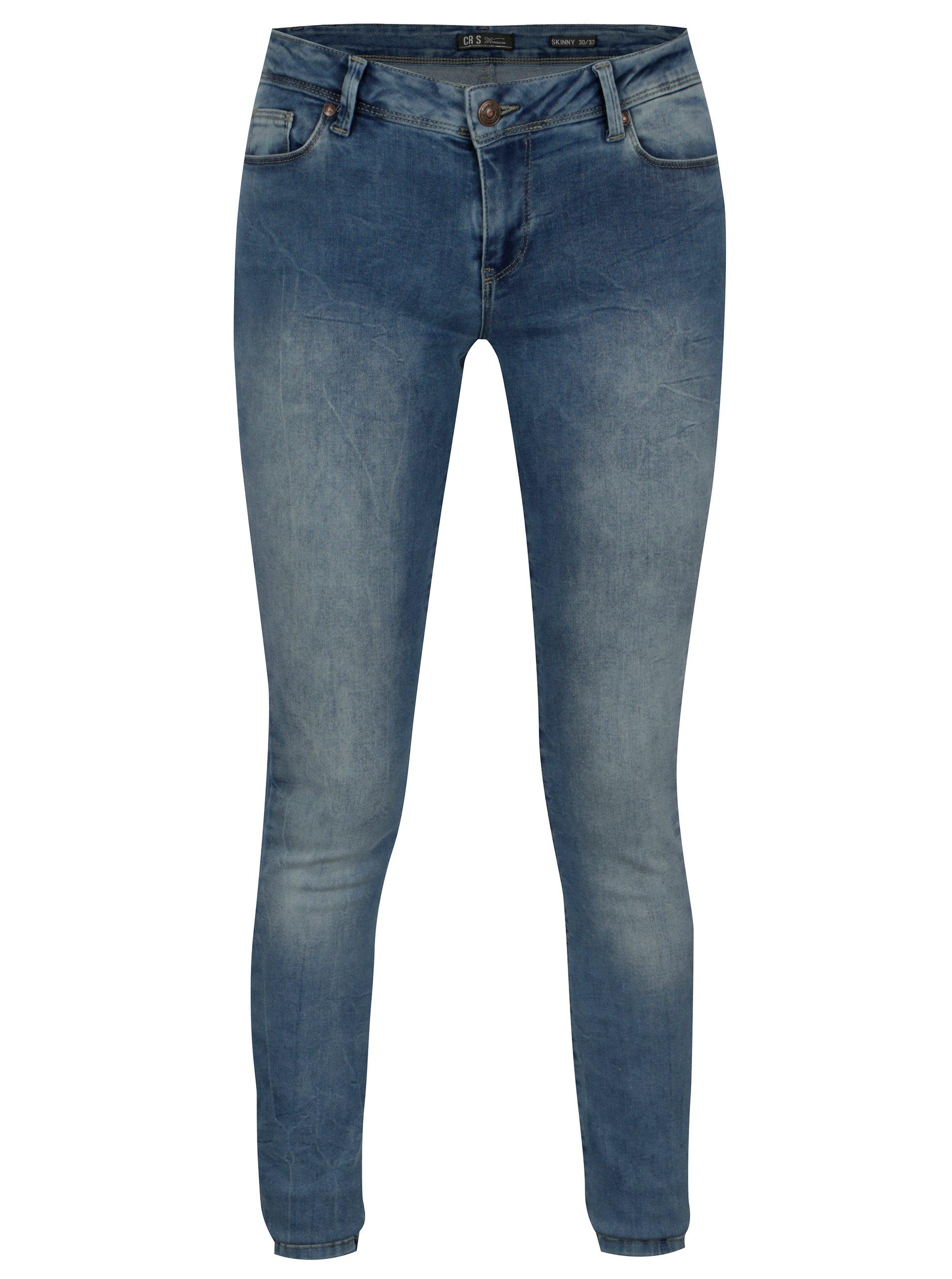 Modré dámské skinny džíny Cars Victoria