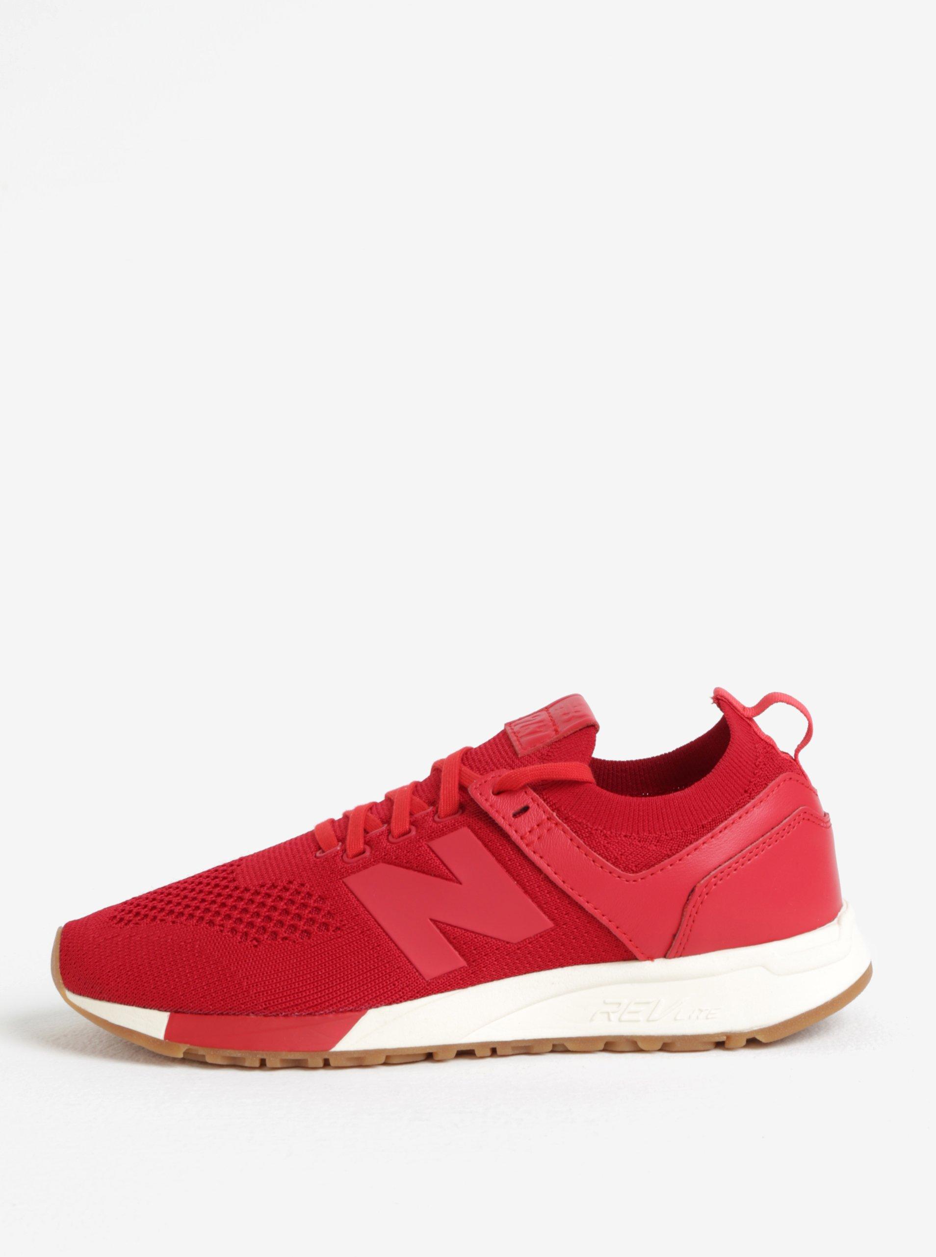 Červené pánské tenisky New Balance MRL247