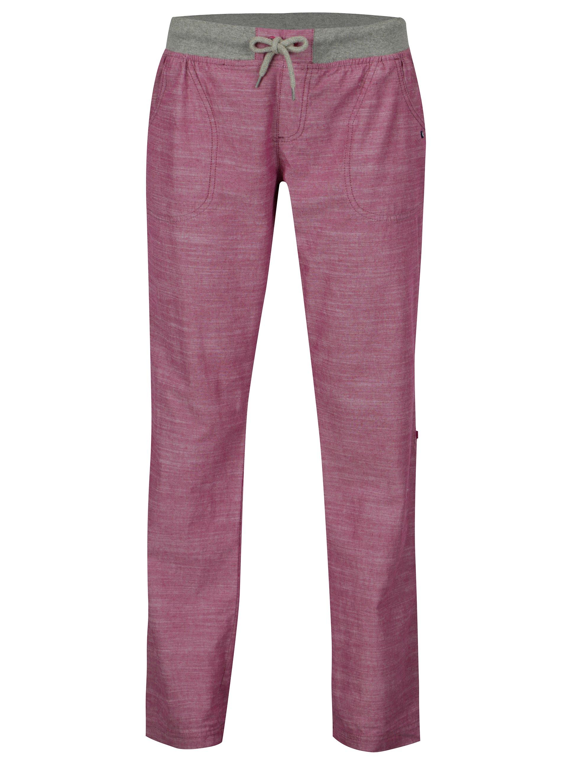 1d483ac93018 Ružové dámske nohavice LOAP Nadeta