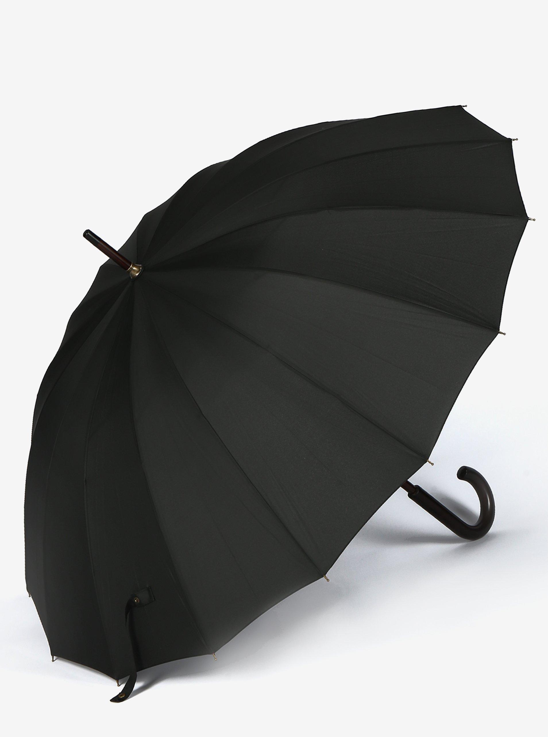 Černý pánský deštník Derby