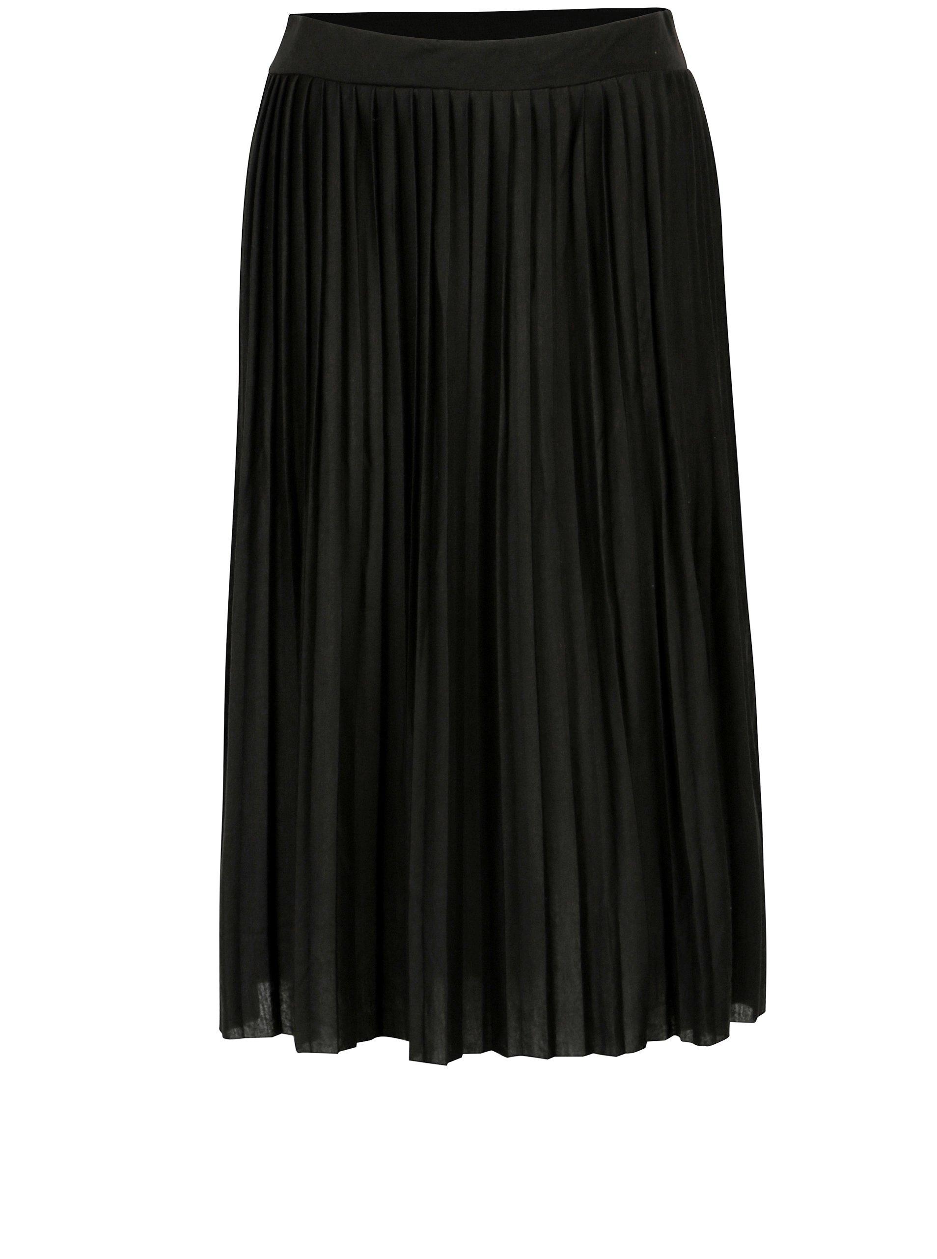 8f7b78e84972 Čierna plisovaná sukňa Haily s Fiona