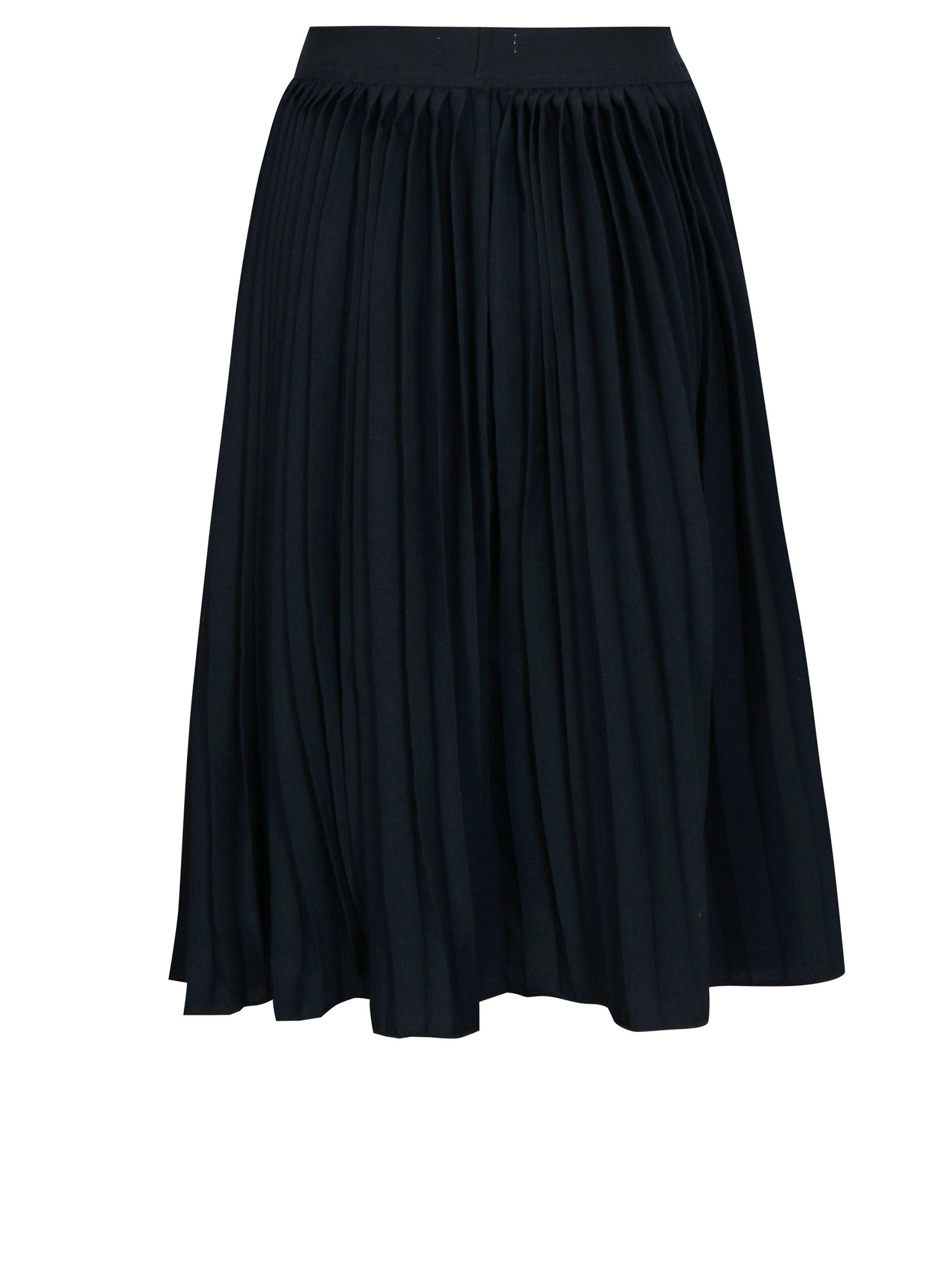 Tmavě modrá plisovaná sukně name it Kiss