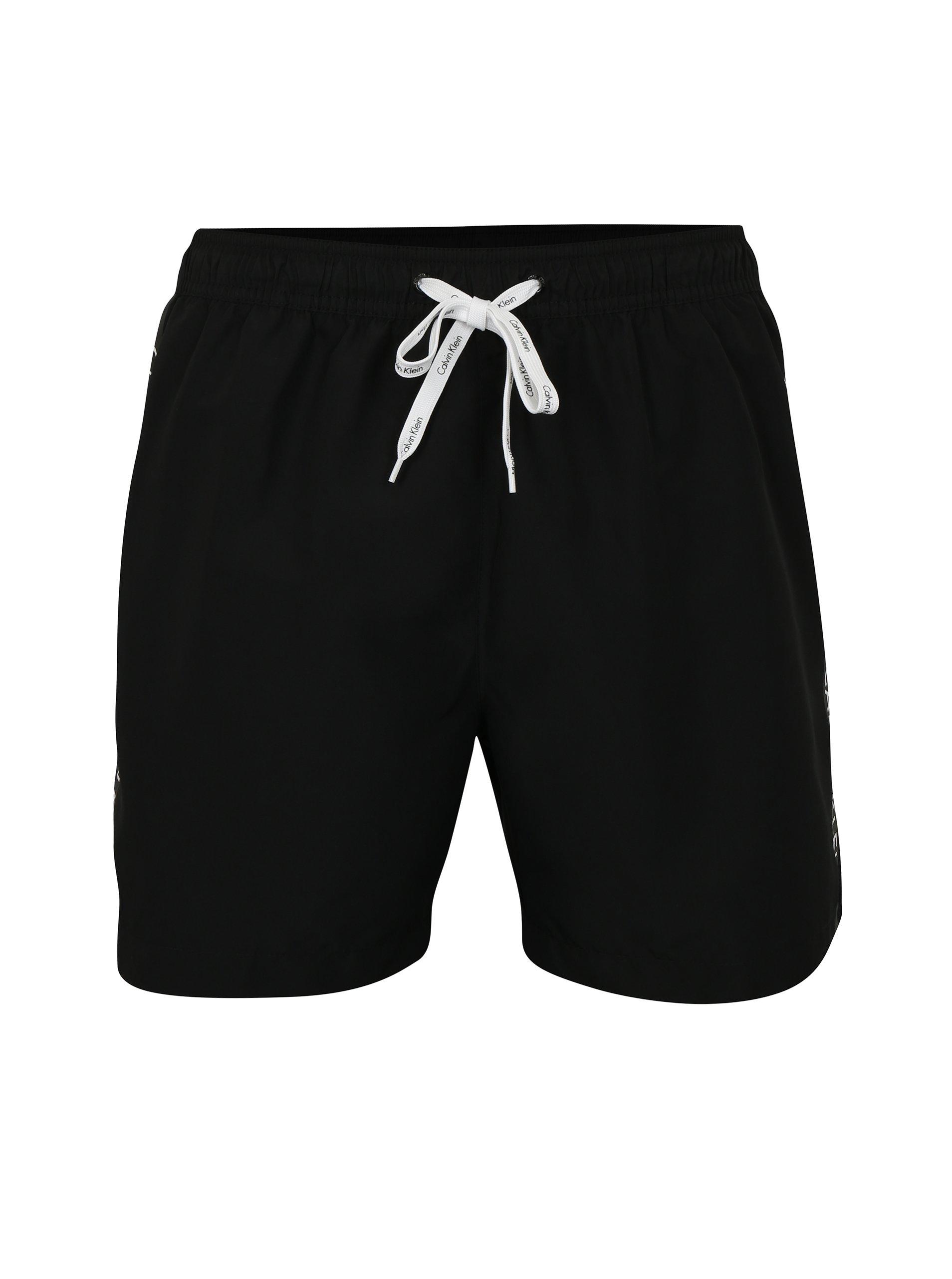d92c544f4f30 Čierne pánske plavky Calvin Klein