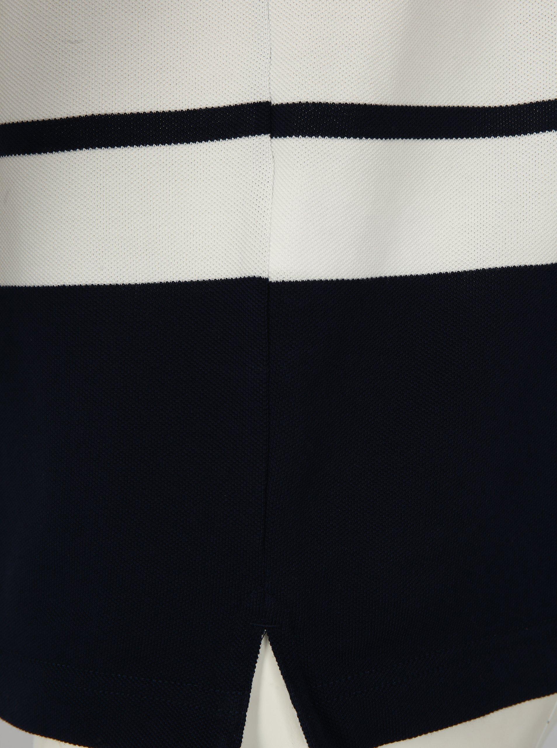 788abd2c218 Modro-bílé pruhované pánské polo tričko GANT