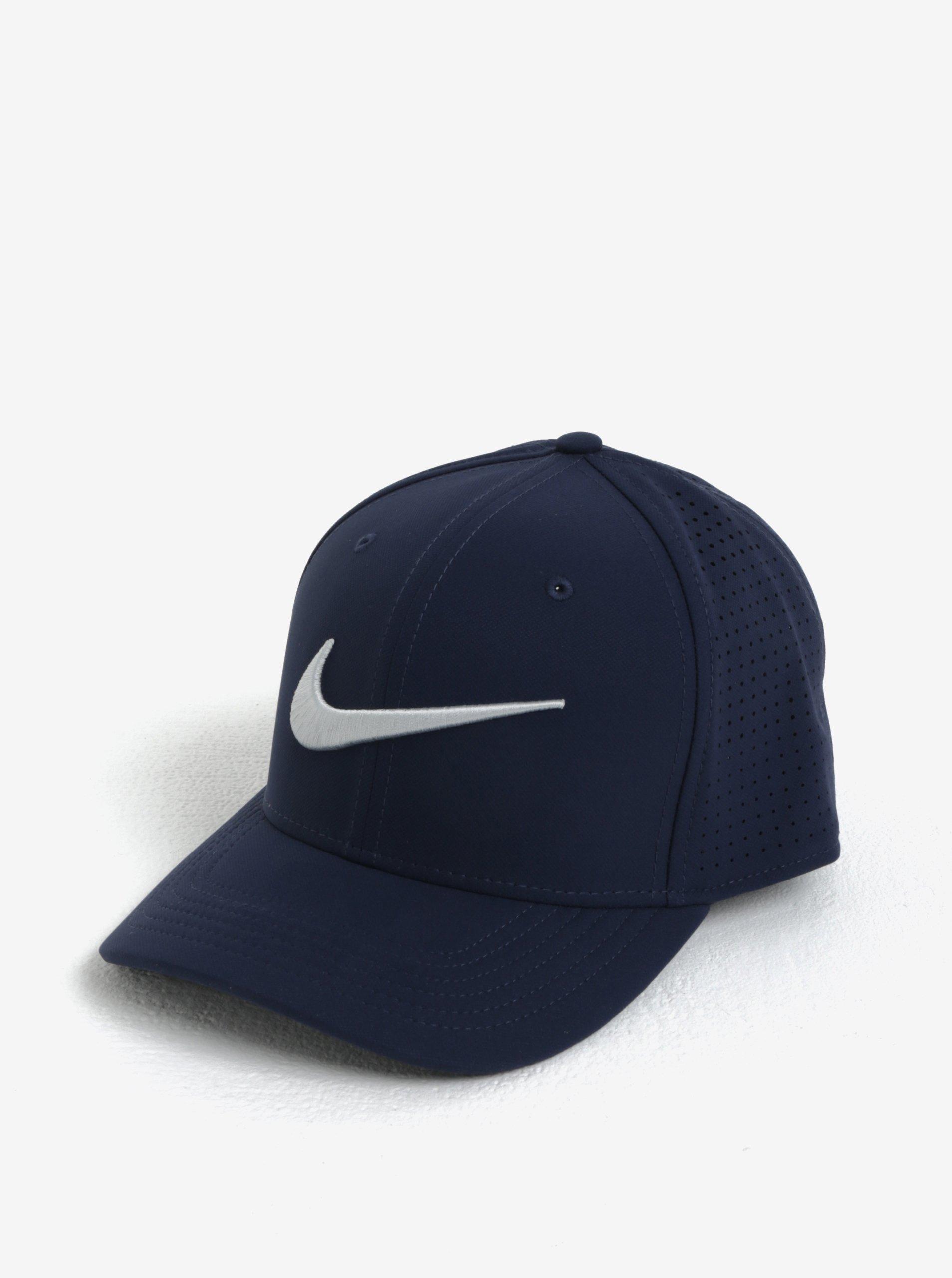 43b996208 Tmavomodrá unisex funkčná šiltovka Nike